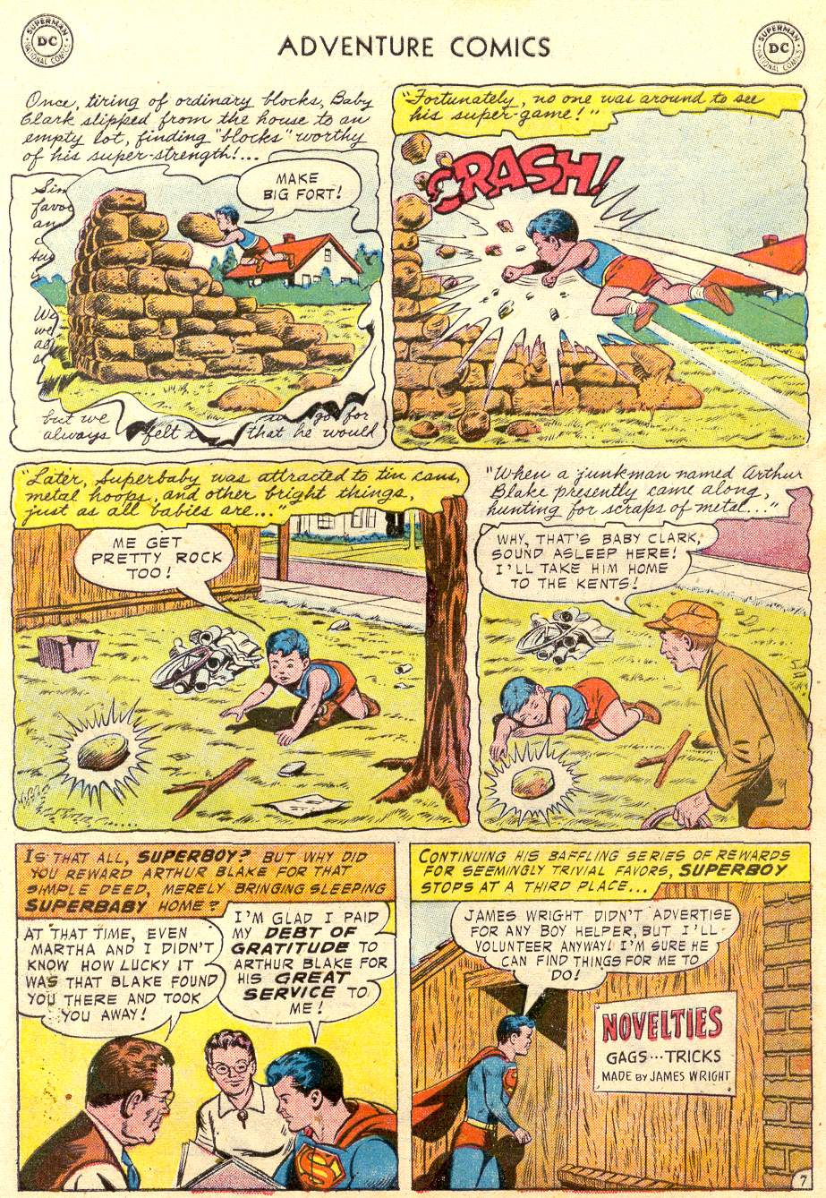 Read online Adventure Comics (1938) comic -  Issue #231 - 10