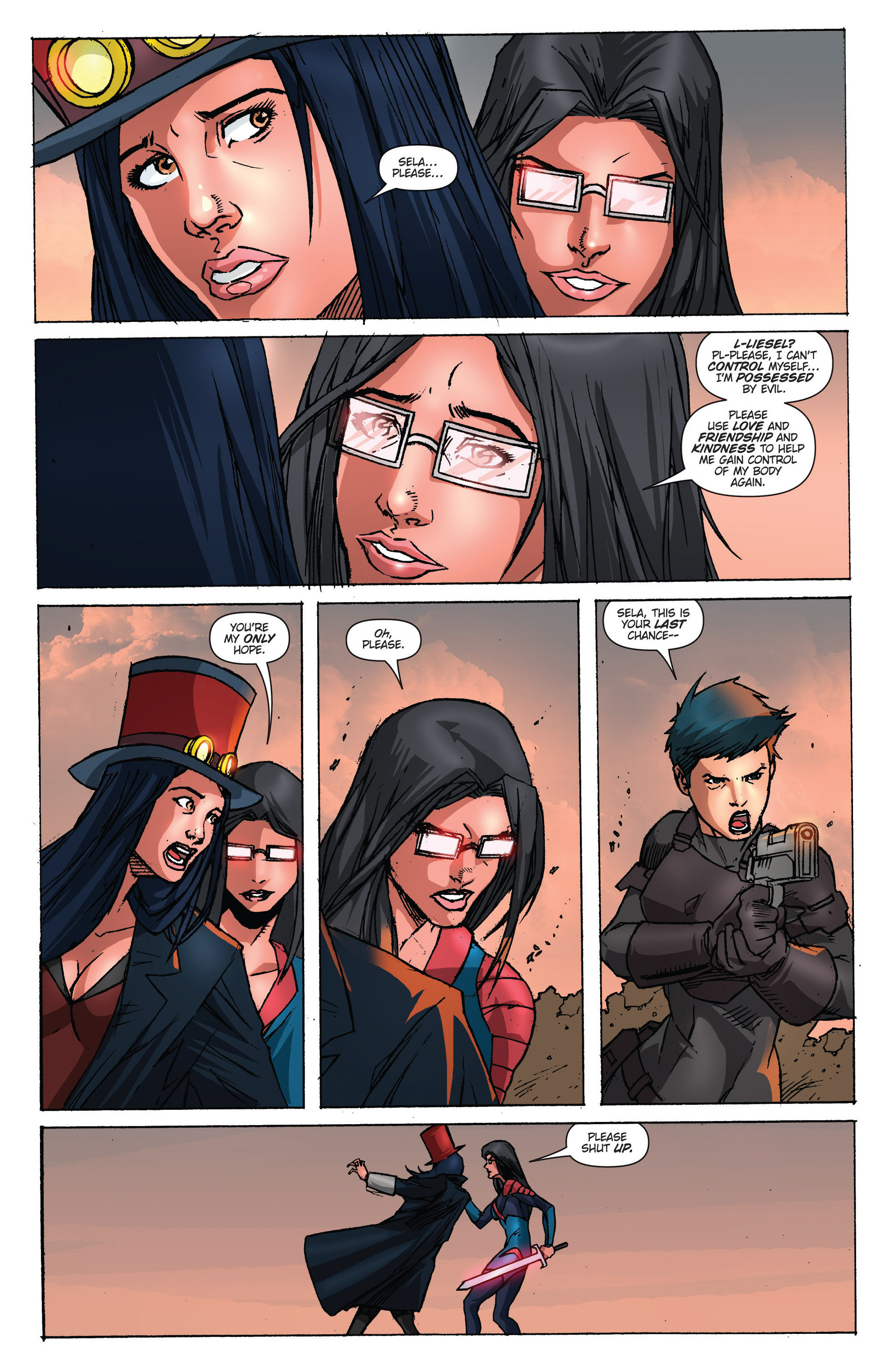 Read online Grimm Fairy Tales presents Realm Knights: Age of Darkness comic -  Issue # Full - 27
