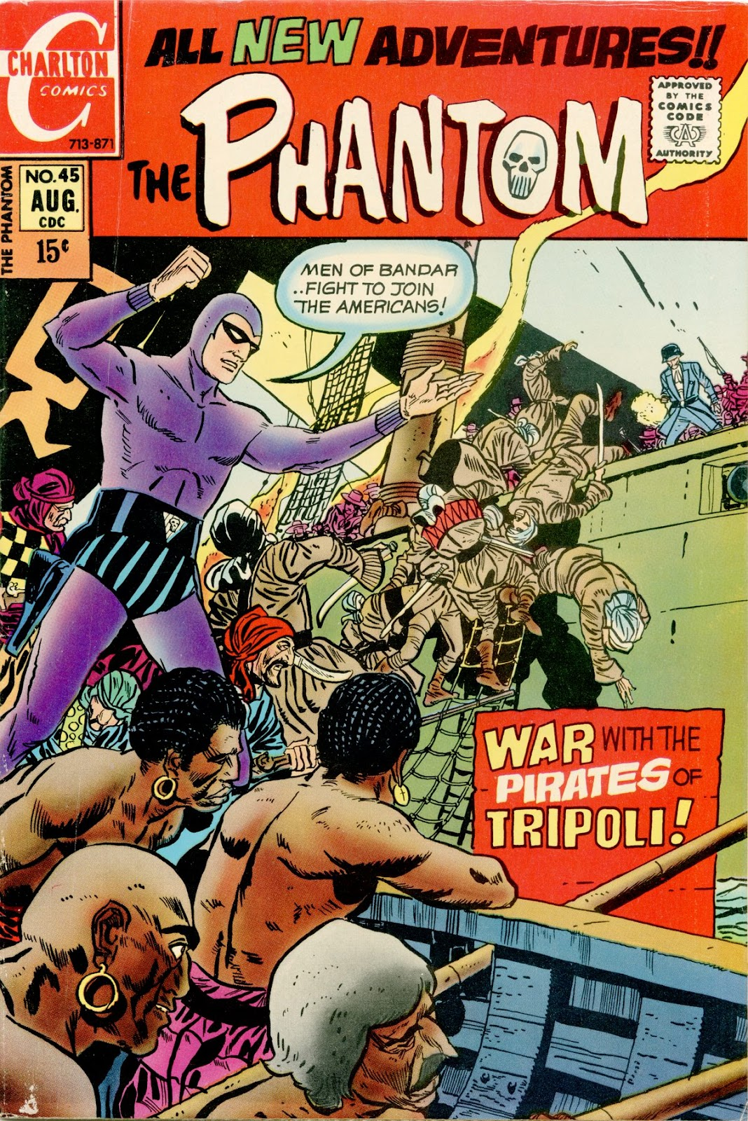 The Phantom (1969) issue 45 - Page 1