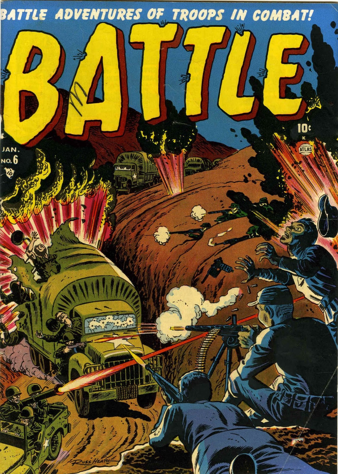 Battle issue 6 - Page 1