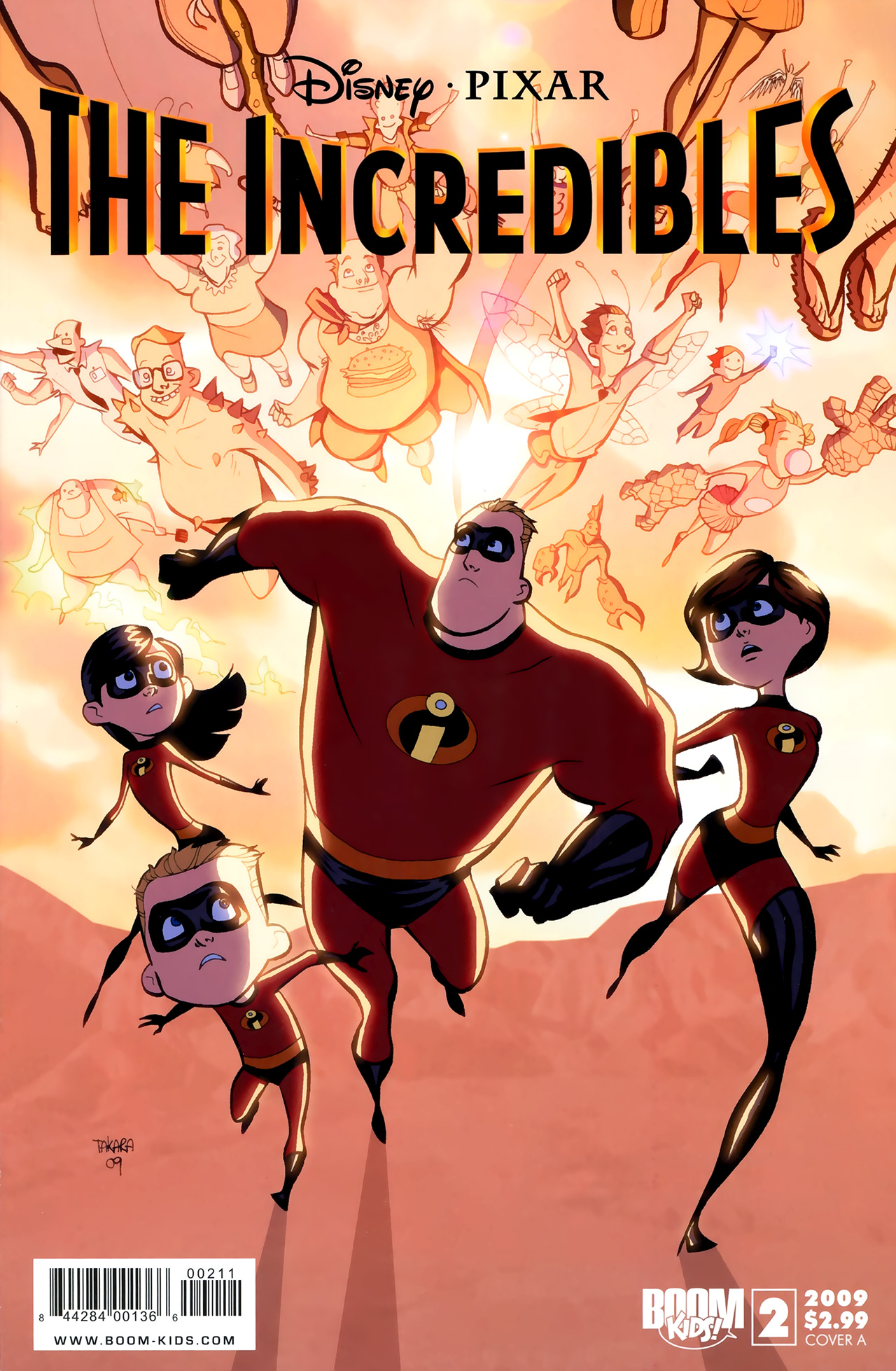 The Incredibles (2009) 2 Page 1