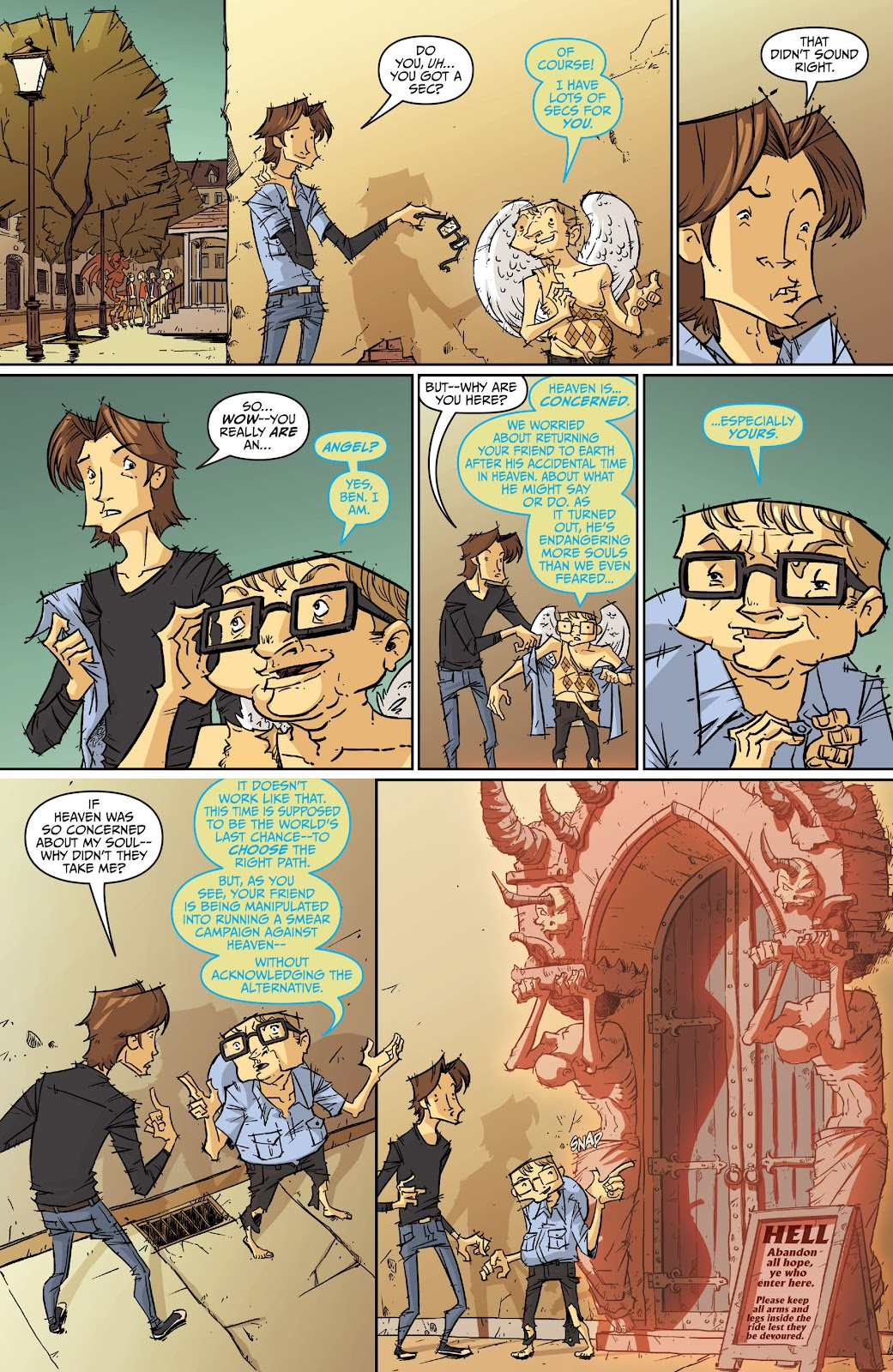 Read online The End Times of Bram and Ben comic -  Issue #2 - 21