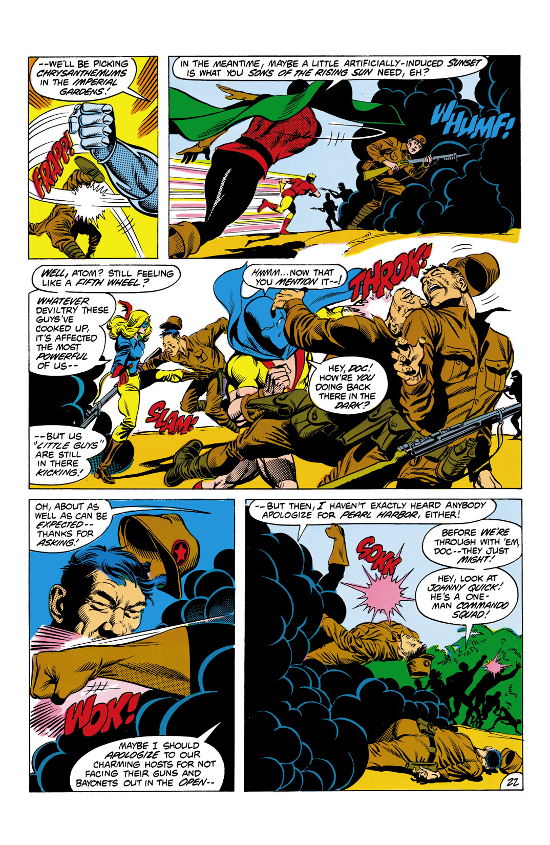 Read online All-Star Squadron comic -  Issue #4 - 23