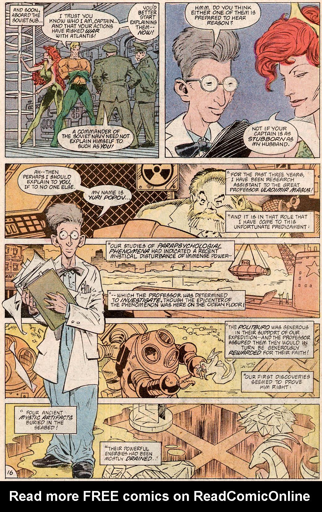 Read online Aquaman Special comic -  Issue #Aquaman Special Full - 18
