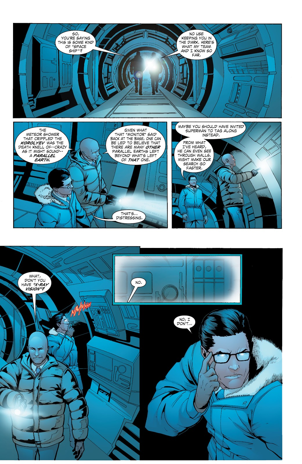 Read online Smallville Season 11 [II] comic -  Issue # TPB 6 - 130