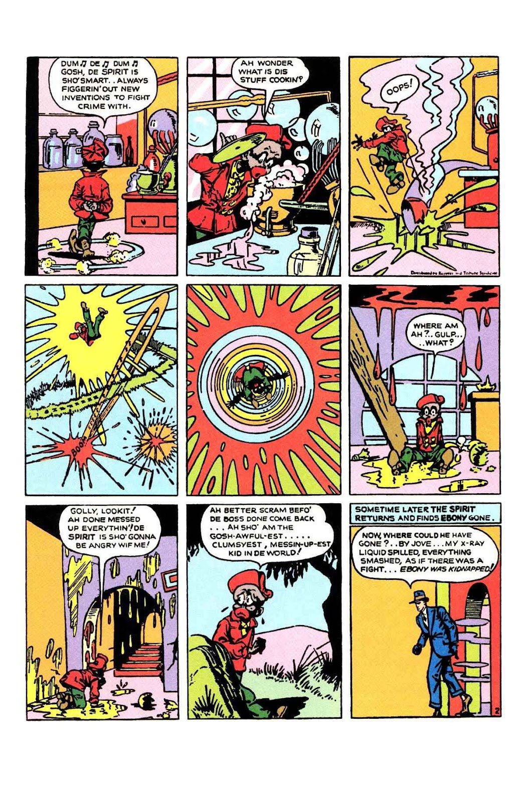 Read online Will Eisner's The Spirit Archives comic -  Issue # TPB 1 (Part 2) - 8