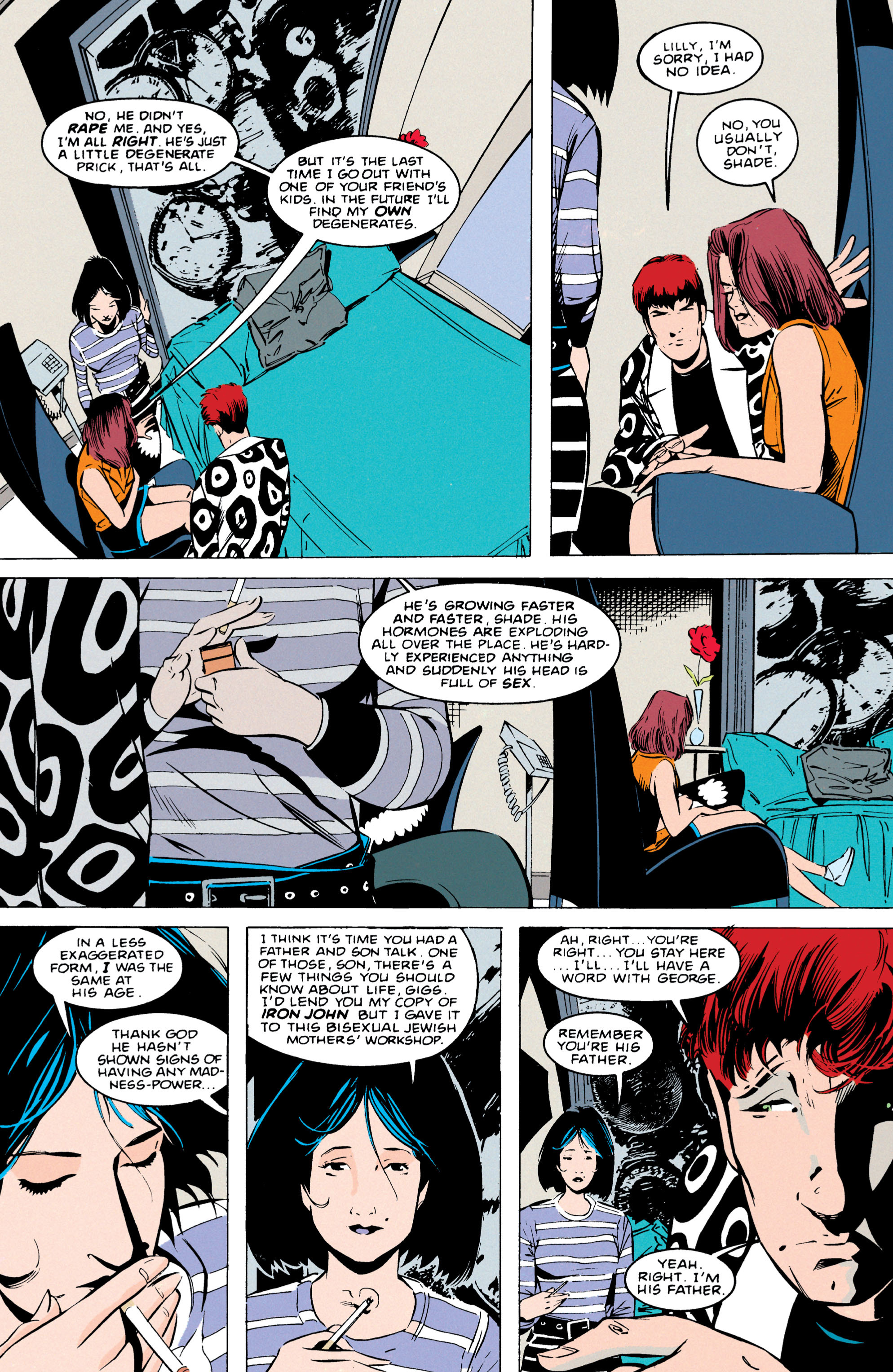 Read online Shade, the Changing Man comic -  Issue #55 - 21