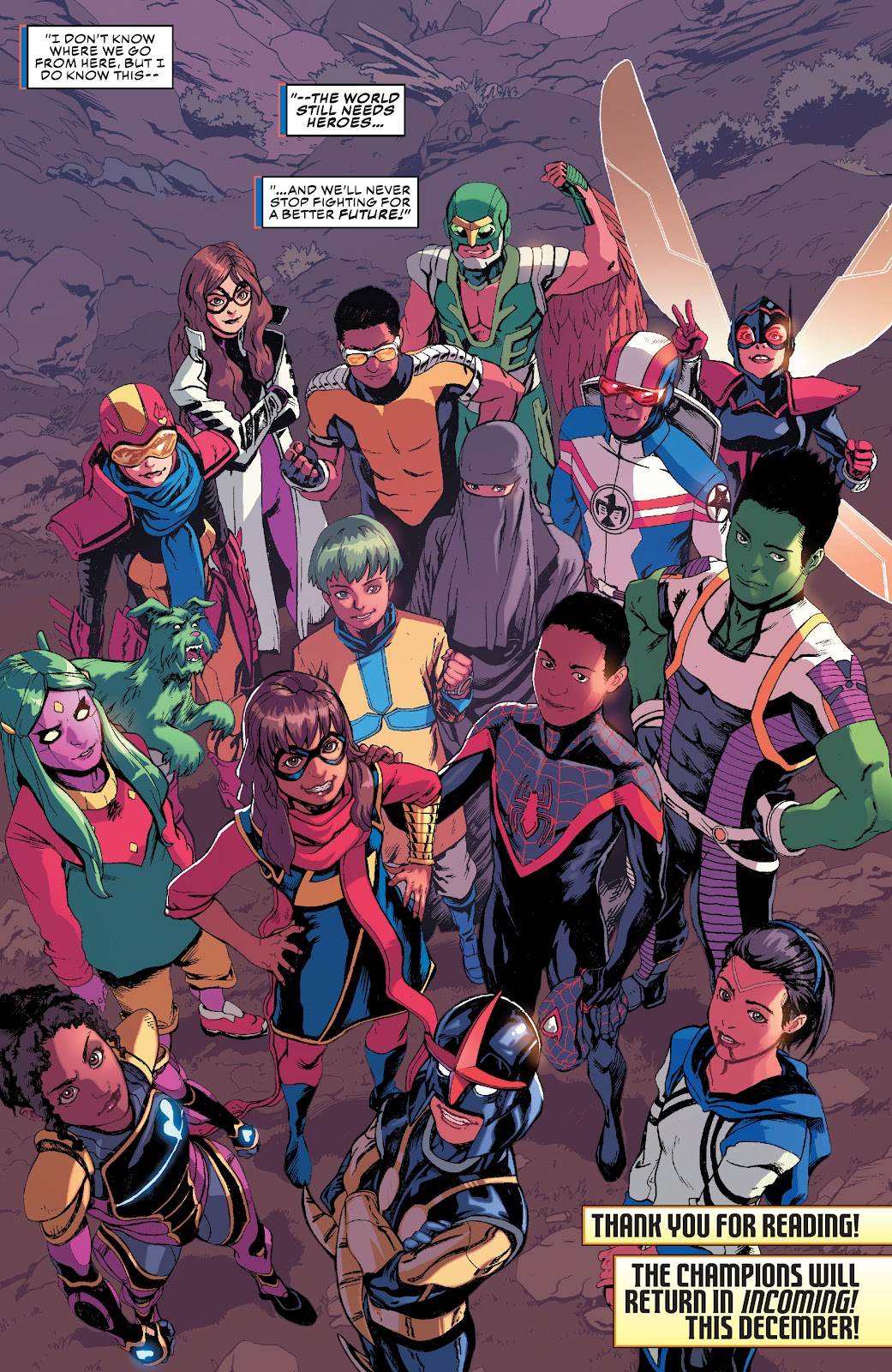 Read online Champions (2019) comic -  Issue #10 - 21