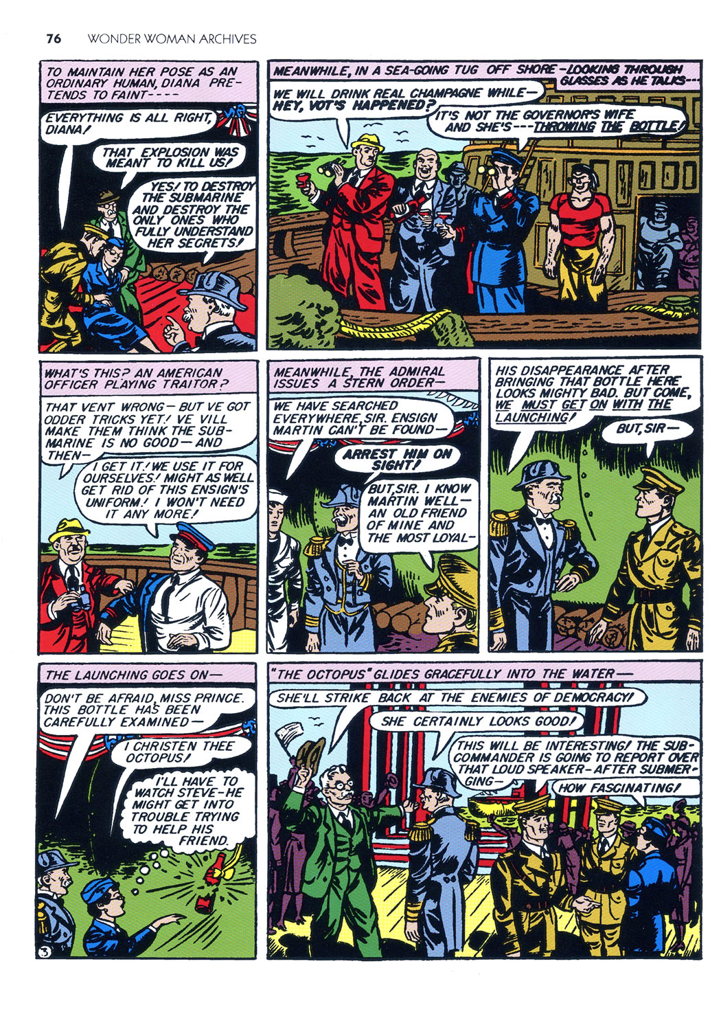 Read online Sensation (Mystery) Comics comic -  Issue #5 - 5