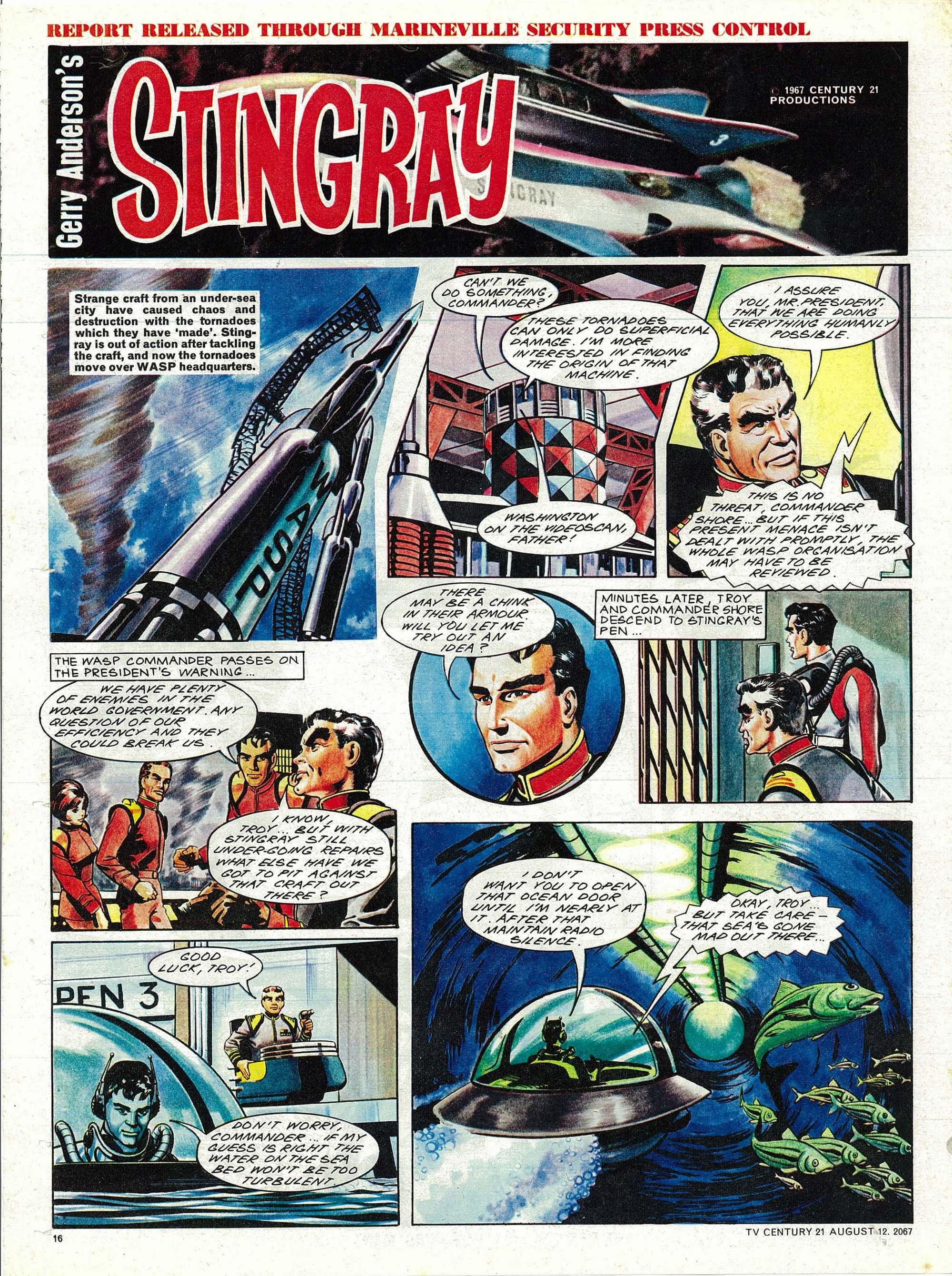 Read online TV Century 21 (TV 21) comic -  Issue #134 - 15