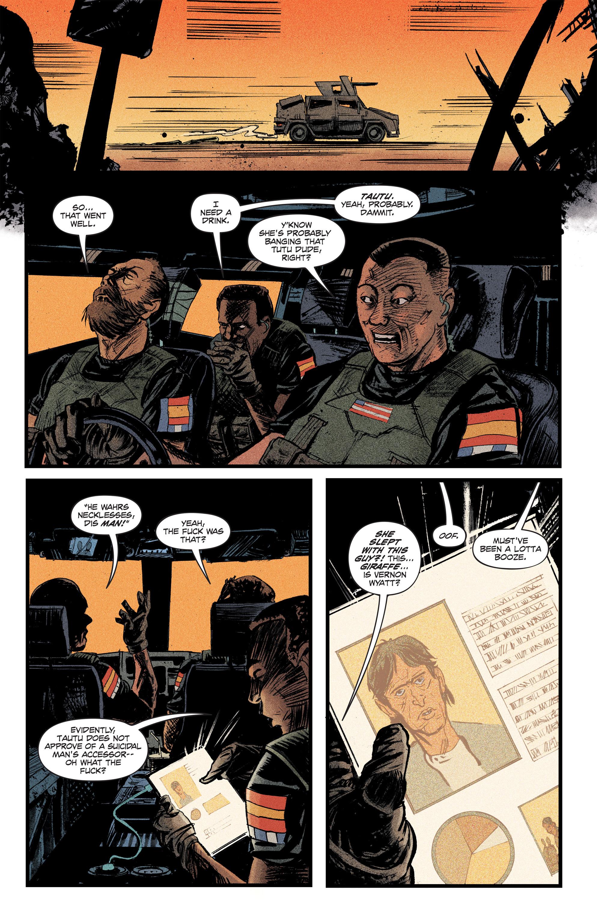 Read online Redline comic -  Issue #2 - 14