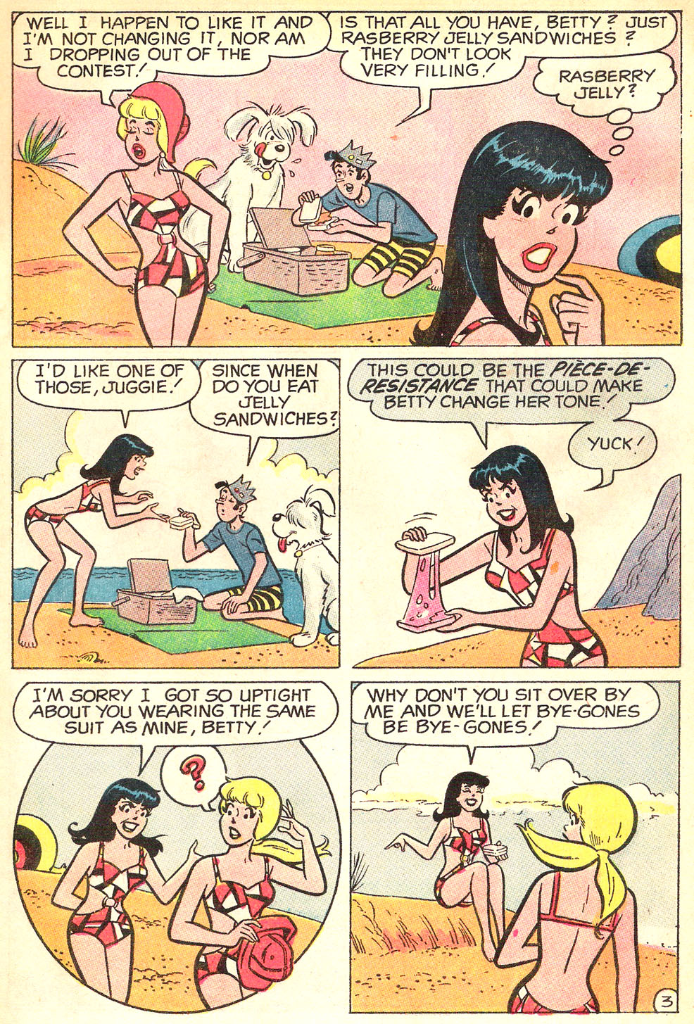 Read online Archie's Girls Betty and Veronica comic -  Issue #177 - 5