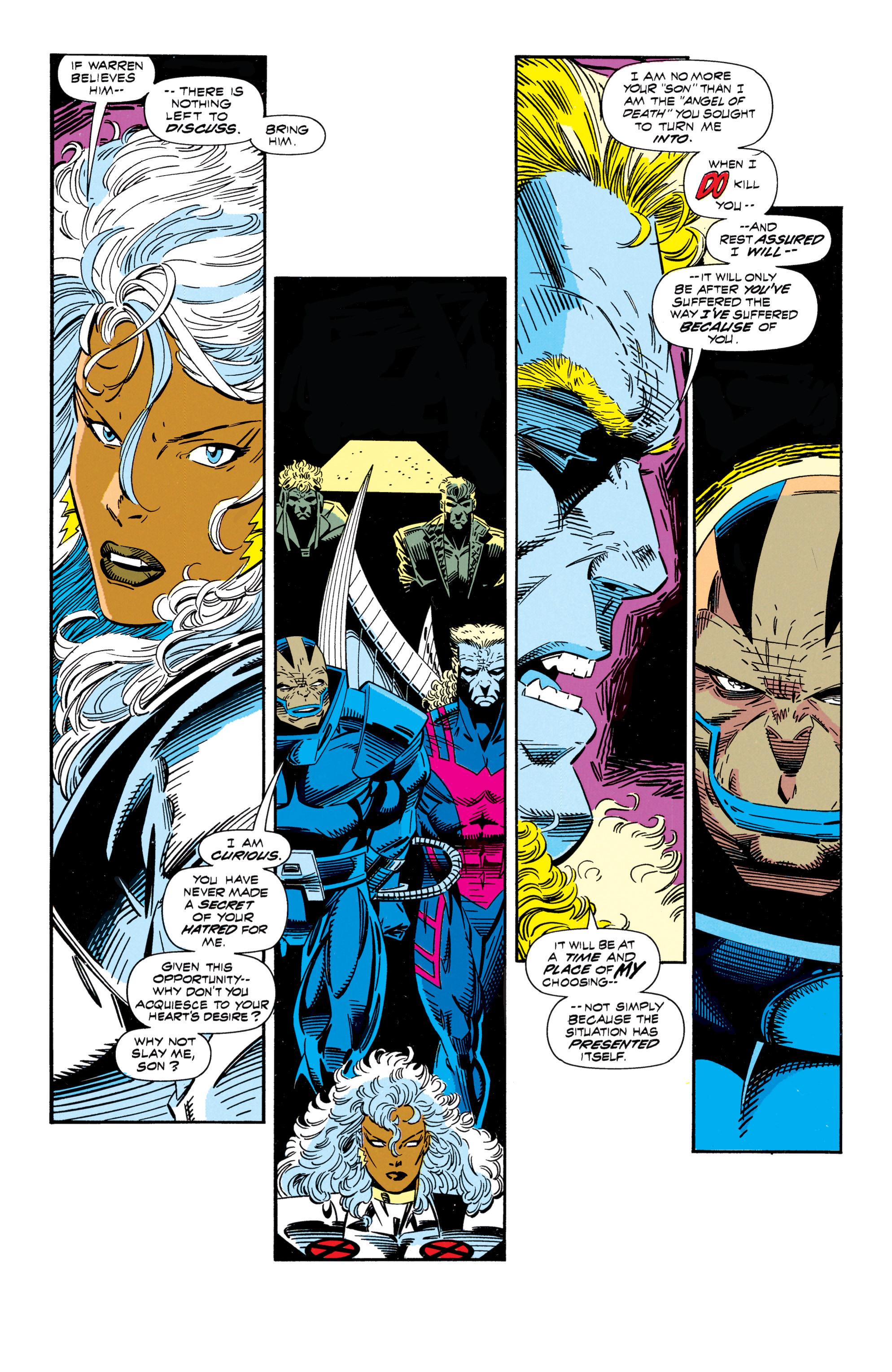 Read online Uncanny X-Men (1963) comic -  Issue #296 - 14