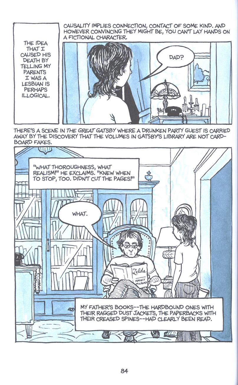 Read online Fun Home: A Family Tragicomic comic -  Issue # TPB - 91