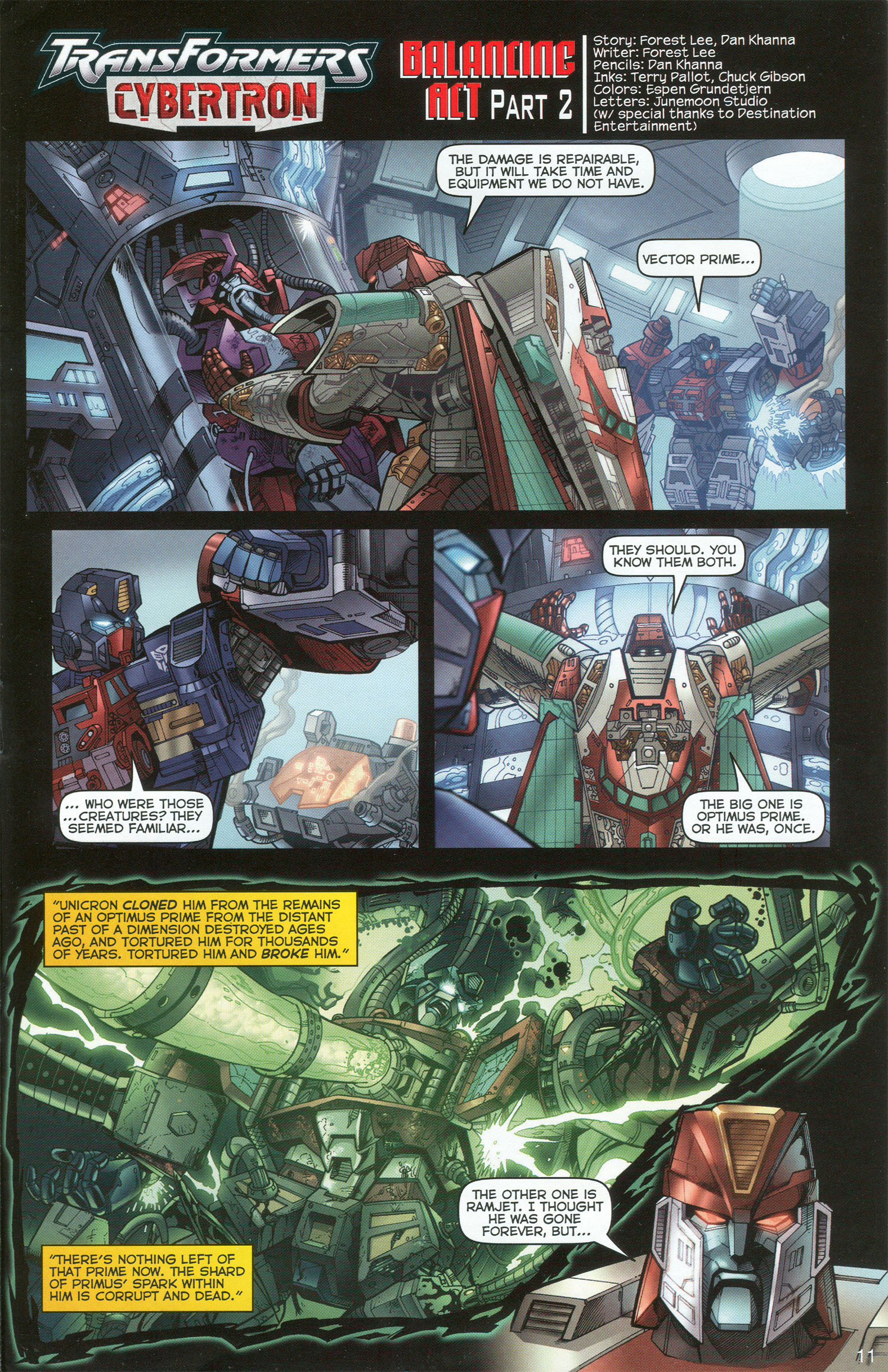 Read online Transformers: Collectors' Club comic -  Issue #3 - 11