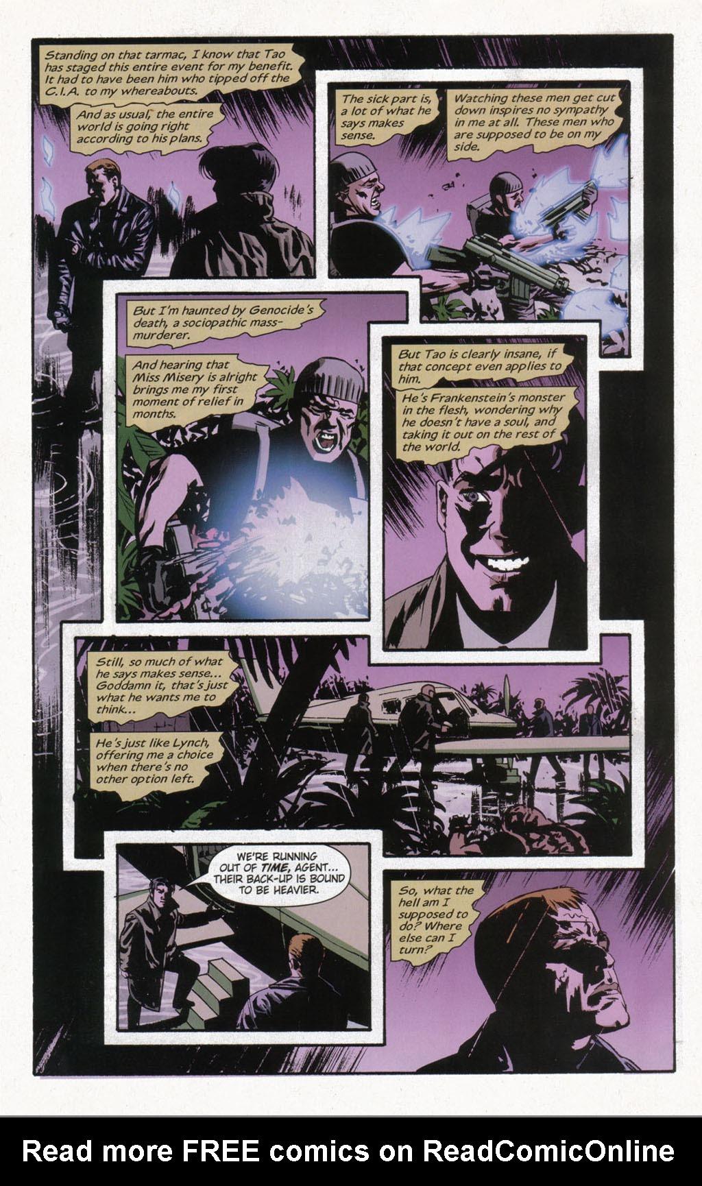 Read online Sleeper comic -  Issue #12 - 22