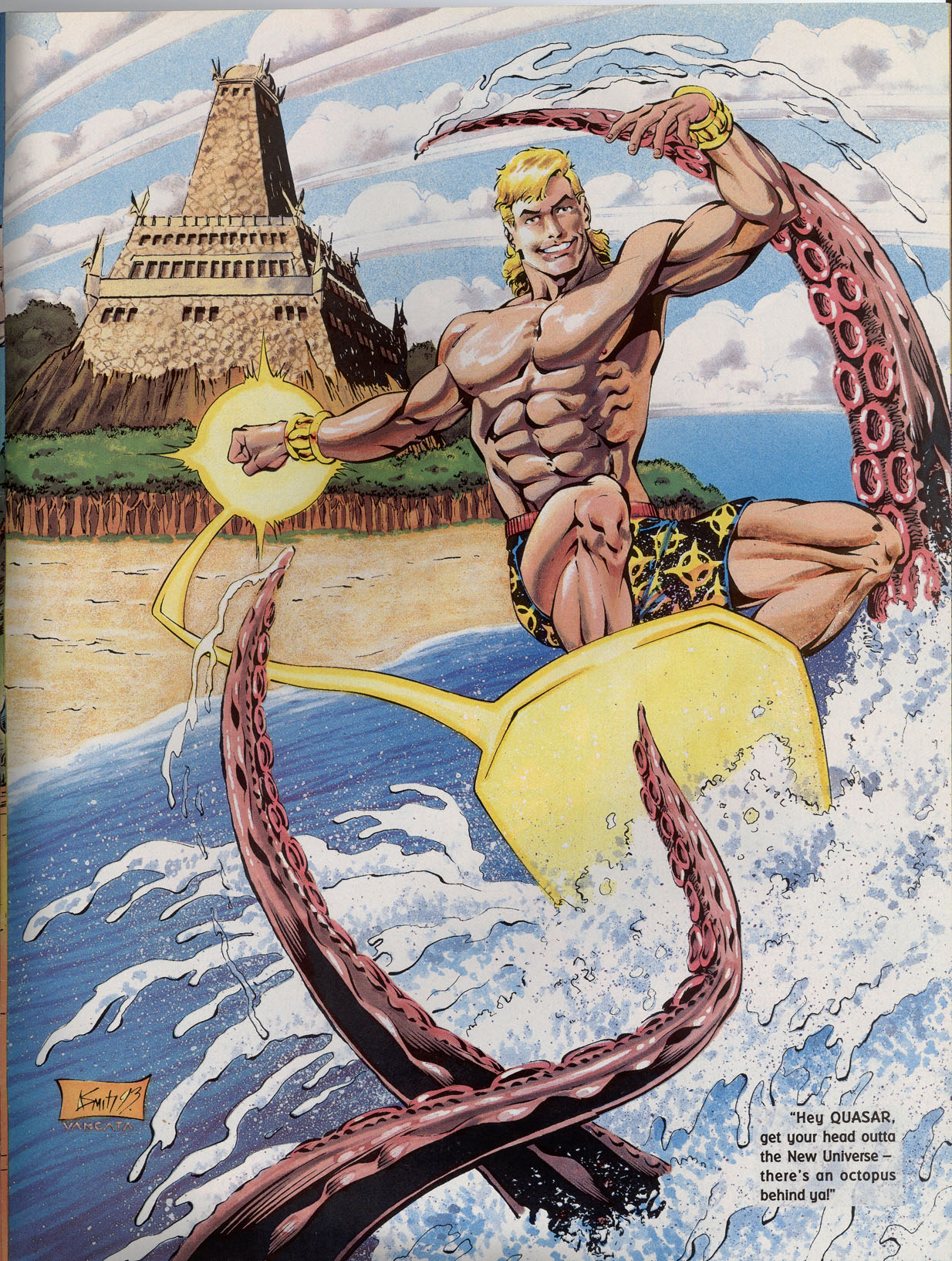 Read online Marvel Swimsuit Special comic -  Issue #2 - 41