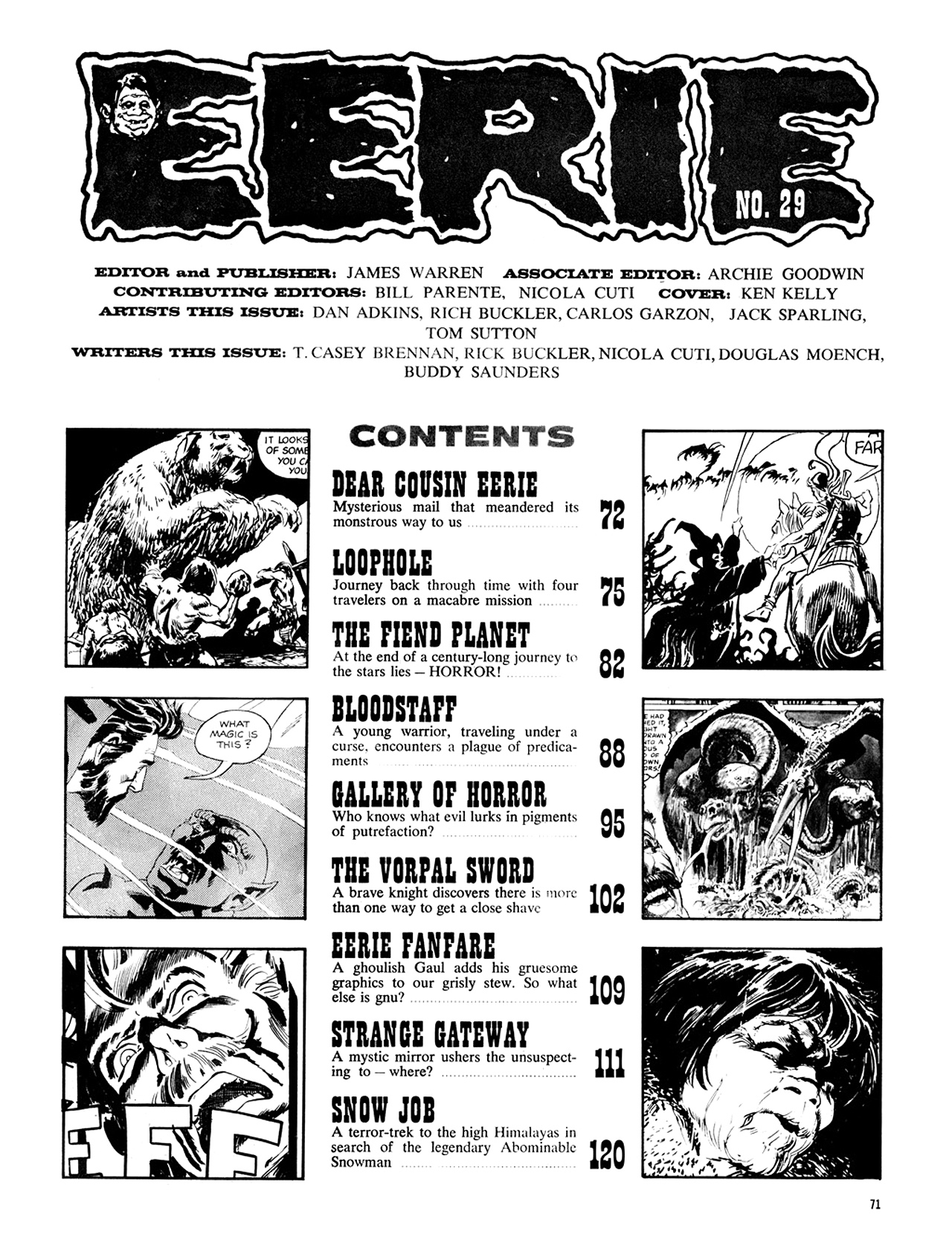 Read online Eerie Archives comic -  Issue # TPB 6 - 72