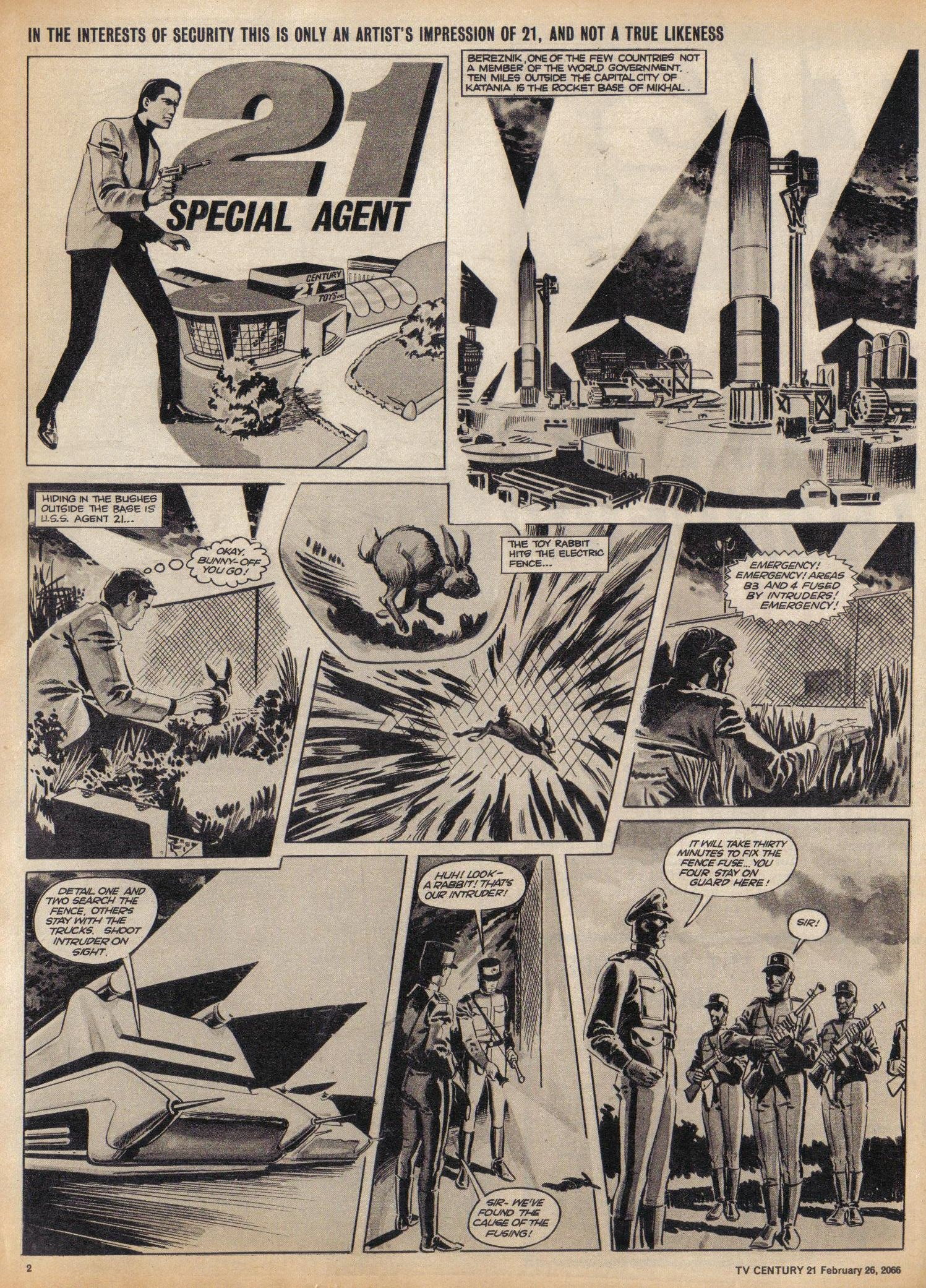 Read online TV Century 21 (TV 21) comic -  Issue #58 - 2