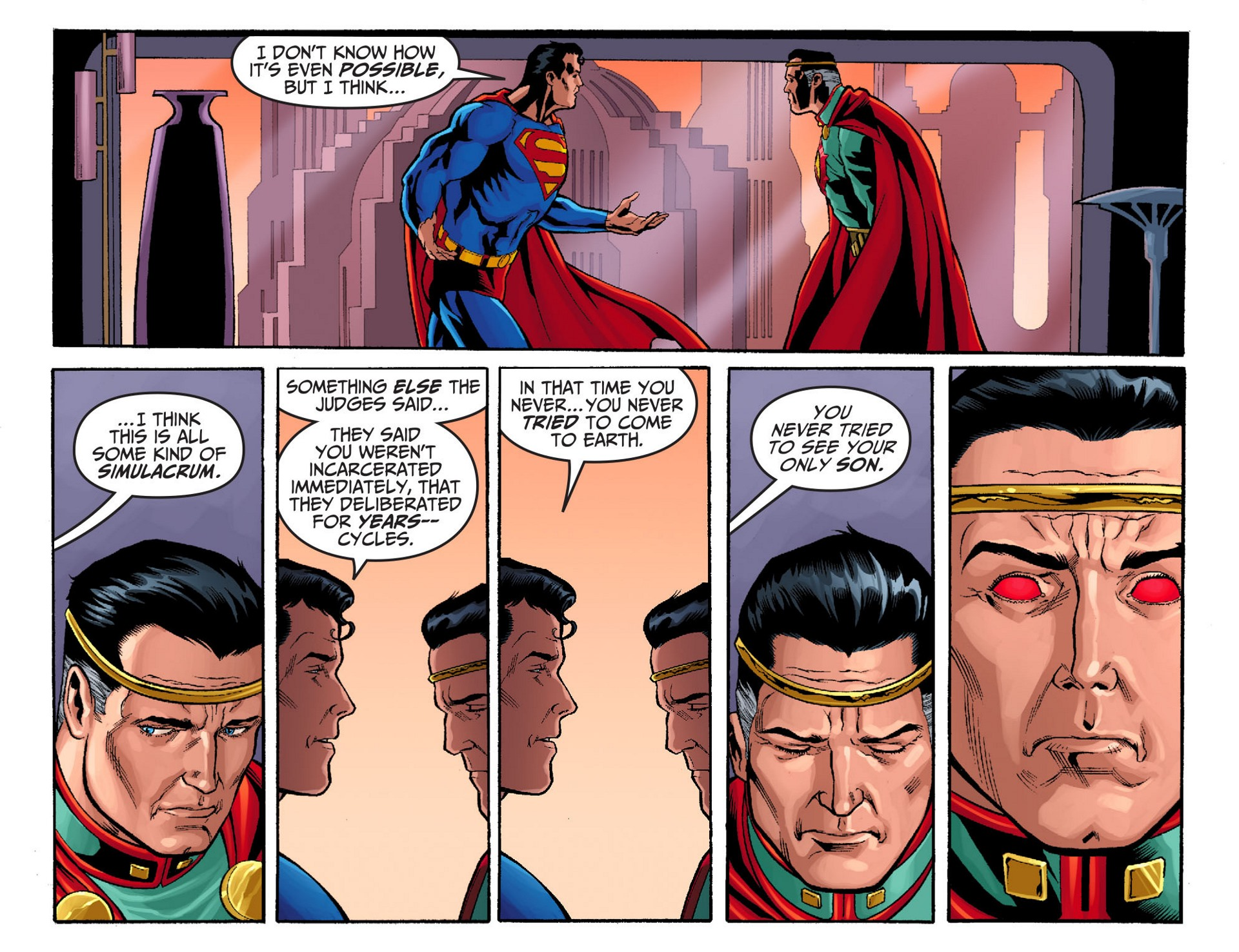 Read online Adventures of Superman [I] comic -  Issue #24 - 3