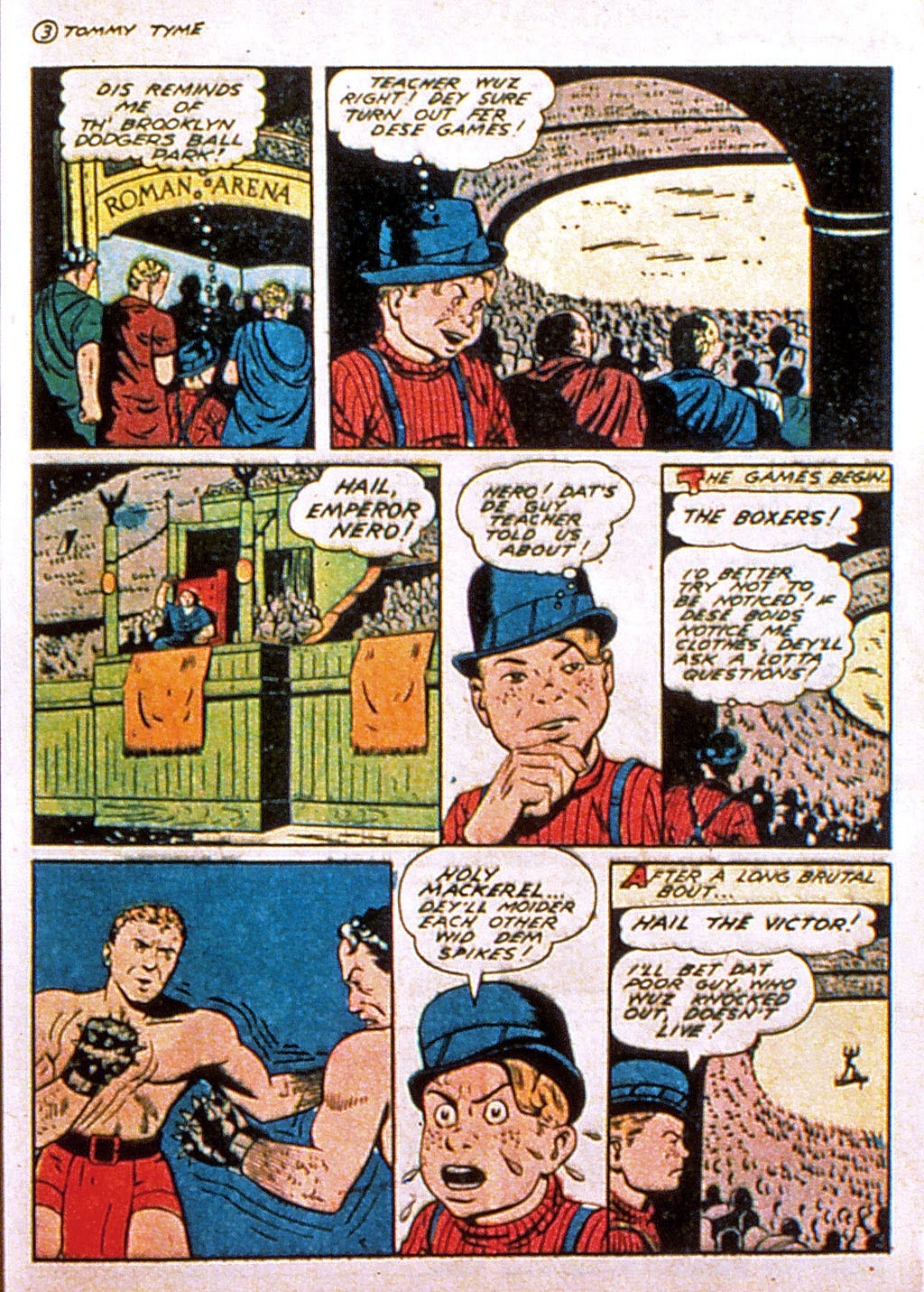 Read online Mystic Comics (1944) comic -  Issue #1 - 37