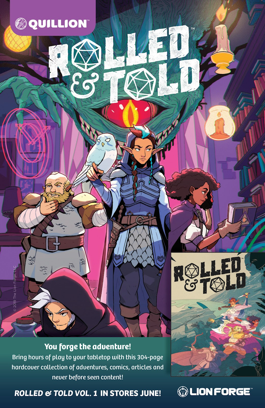 Read online Rolled & Told comic -  Issue #9 - 2