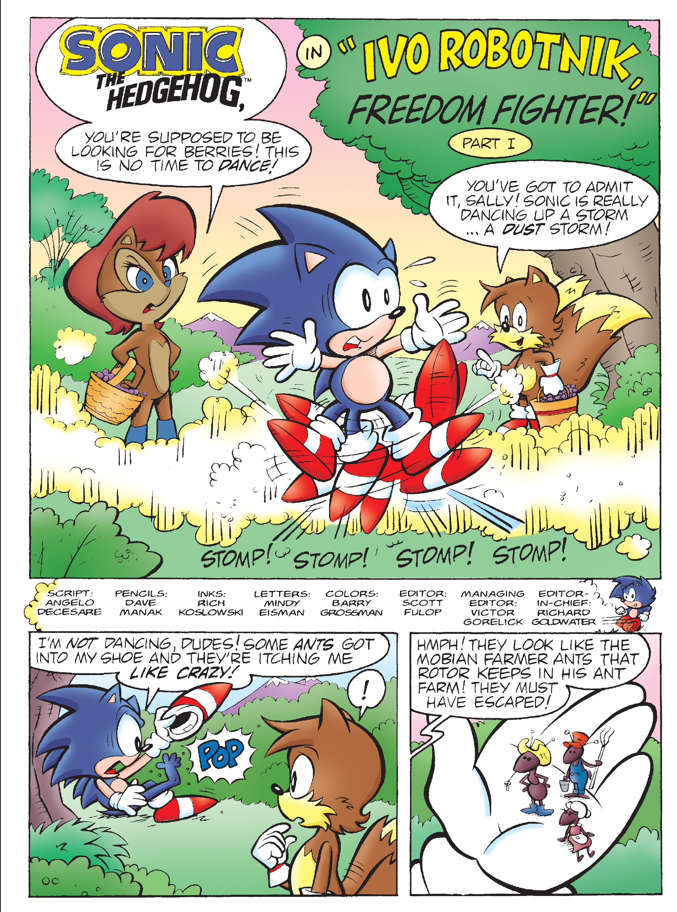 Read online Sonic Super Digest comic -  Issue #7 - 99