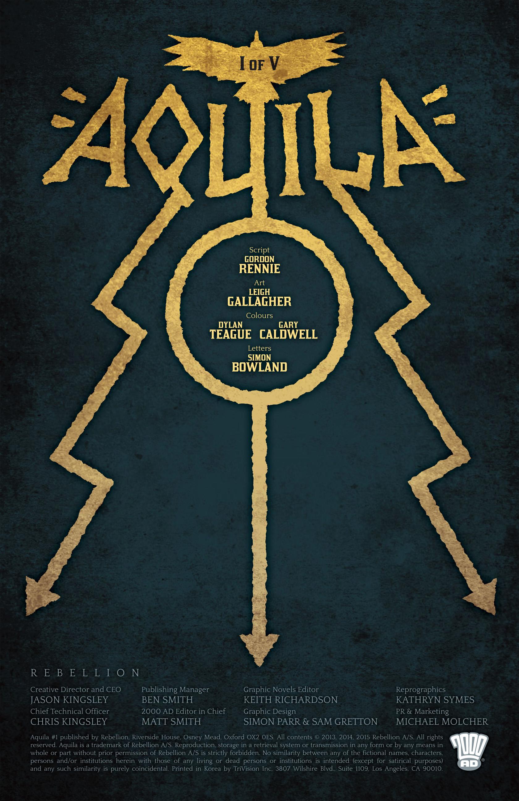 Read online Aquila comic -  Issue #1 - 2