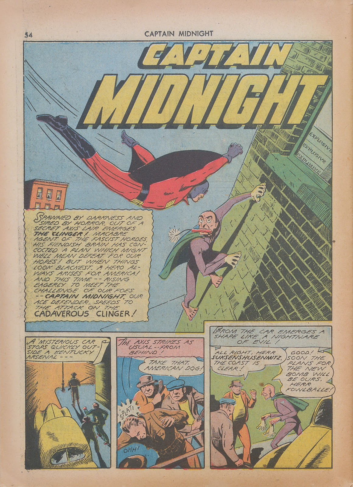 Captain Midnight (1942) issue 7 - Page 54