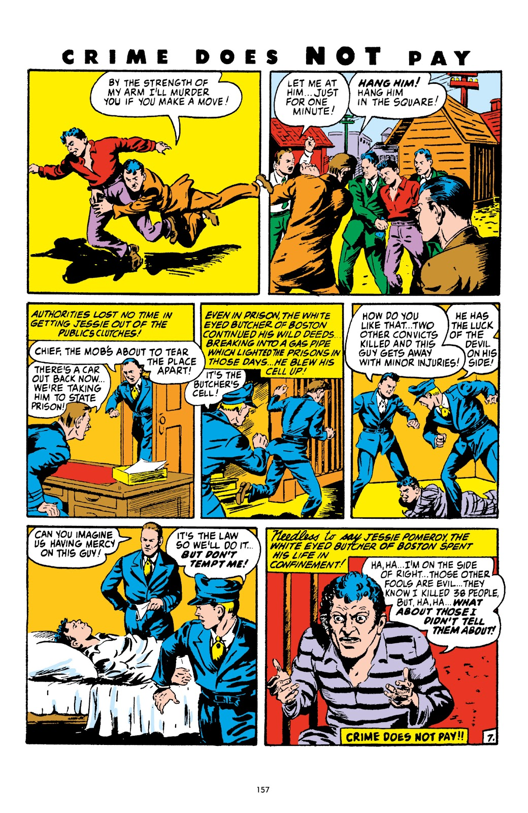 Read online Crime Does Not Pay Archives comic -  Issue # TPB 4 (Part 2) - 57