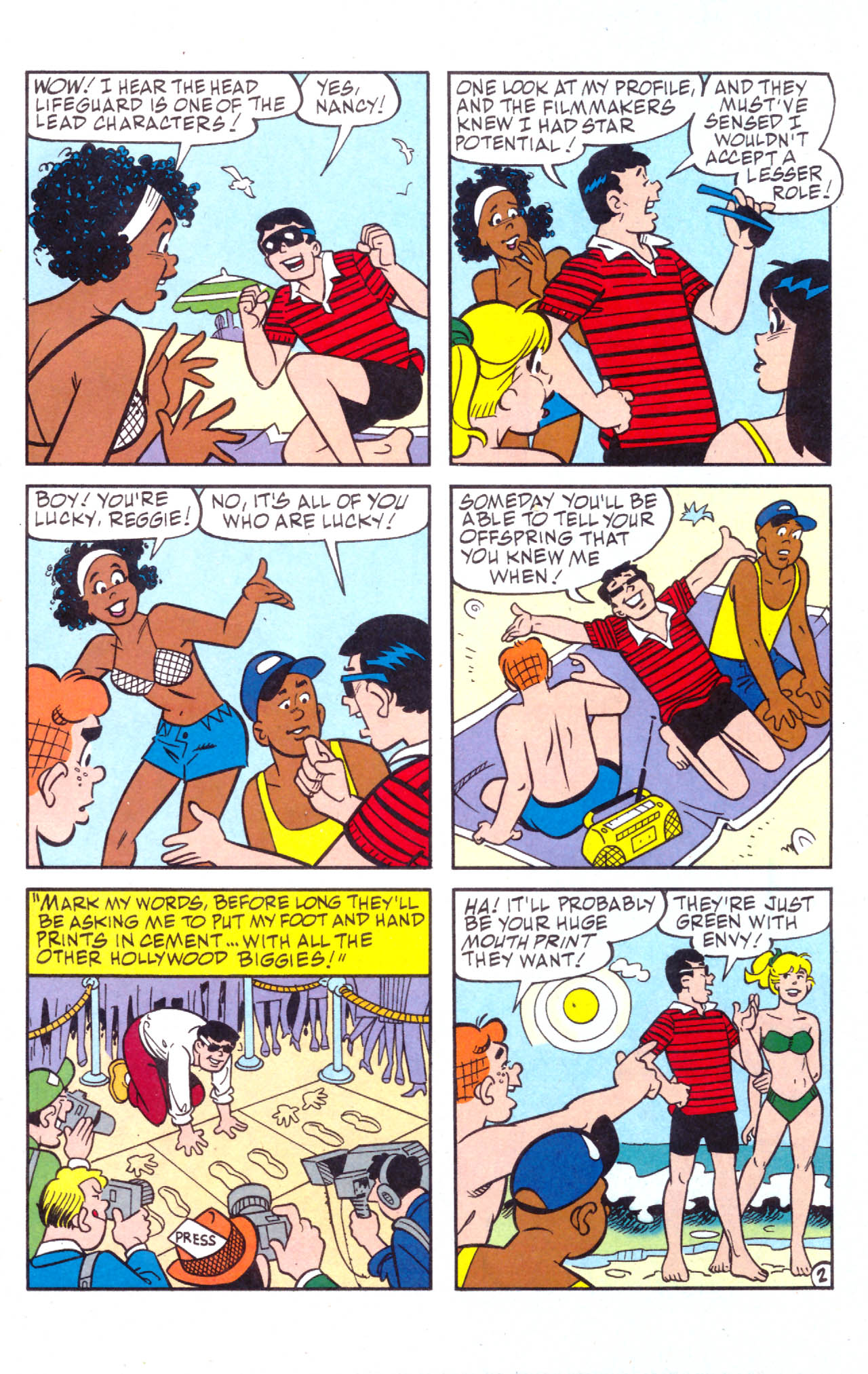 Read online Archie (1960) comic -  Issue #576 - 14