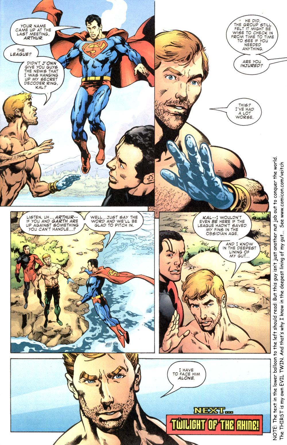 Read online Aquaman (2003) comic -  Issue #6 - 24
