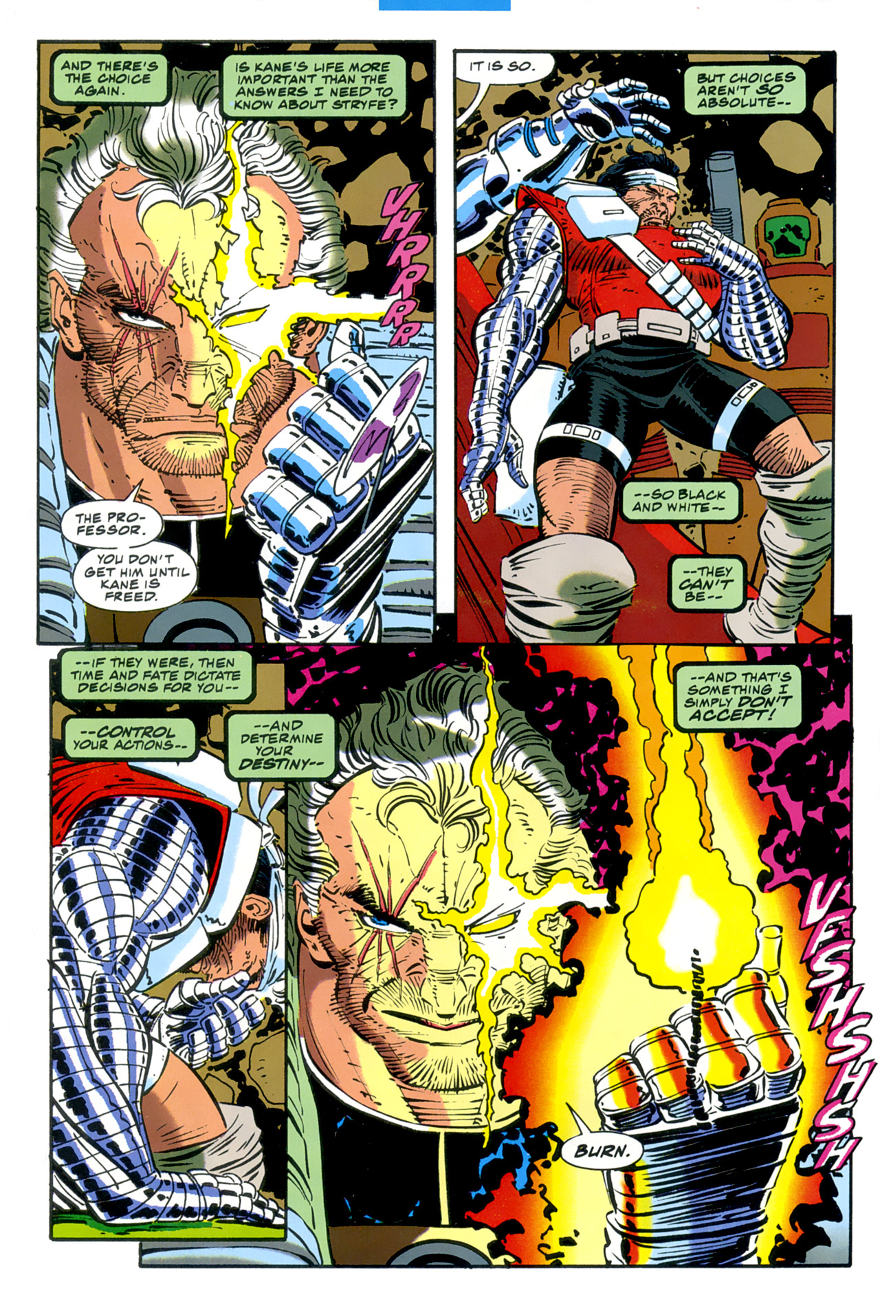 Read online Cable - Blood and Metal comic -  Issue #2 - 39