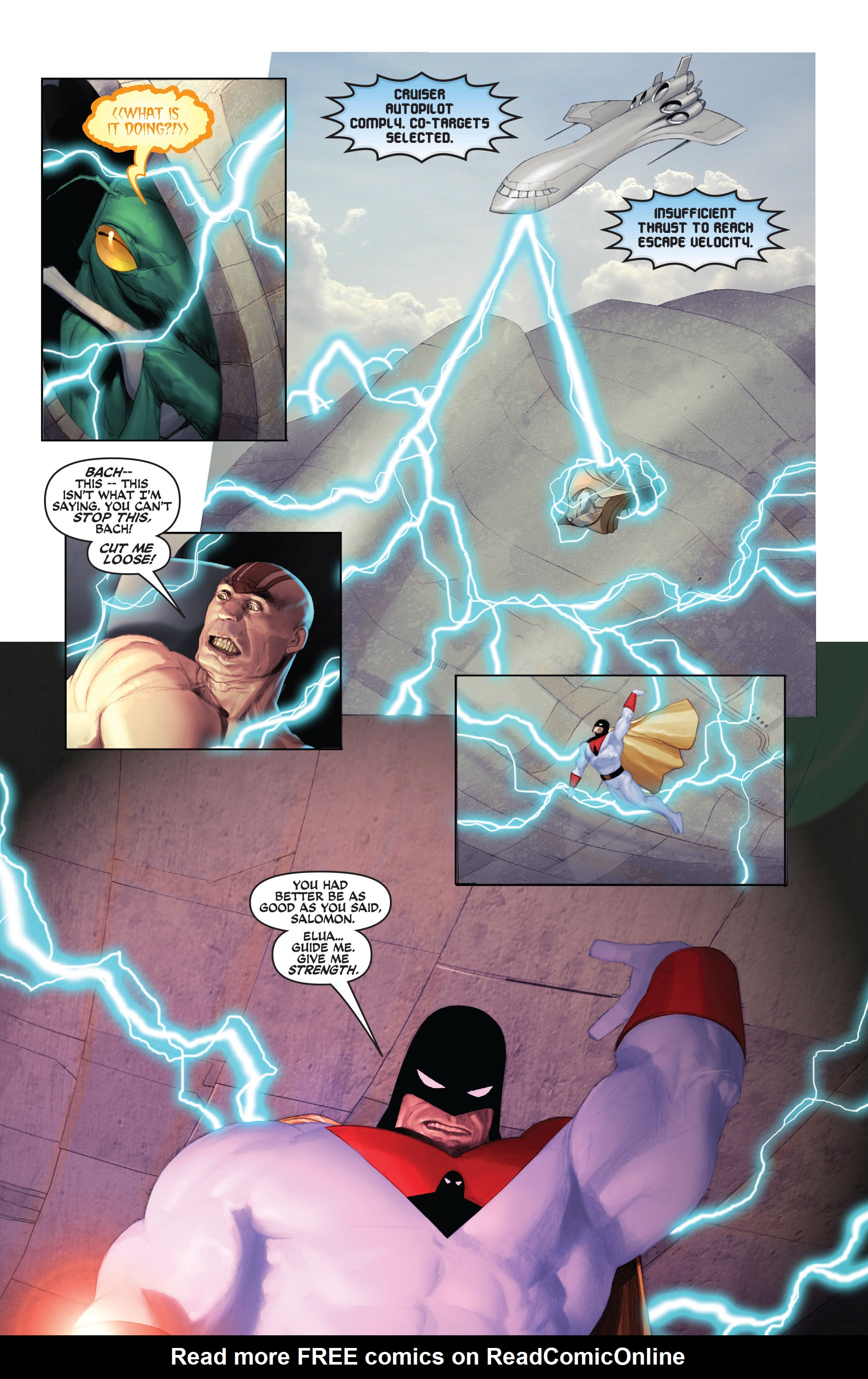 Read online Space Ghost (2016) comic -  Issue # Full - 126