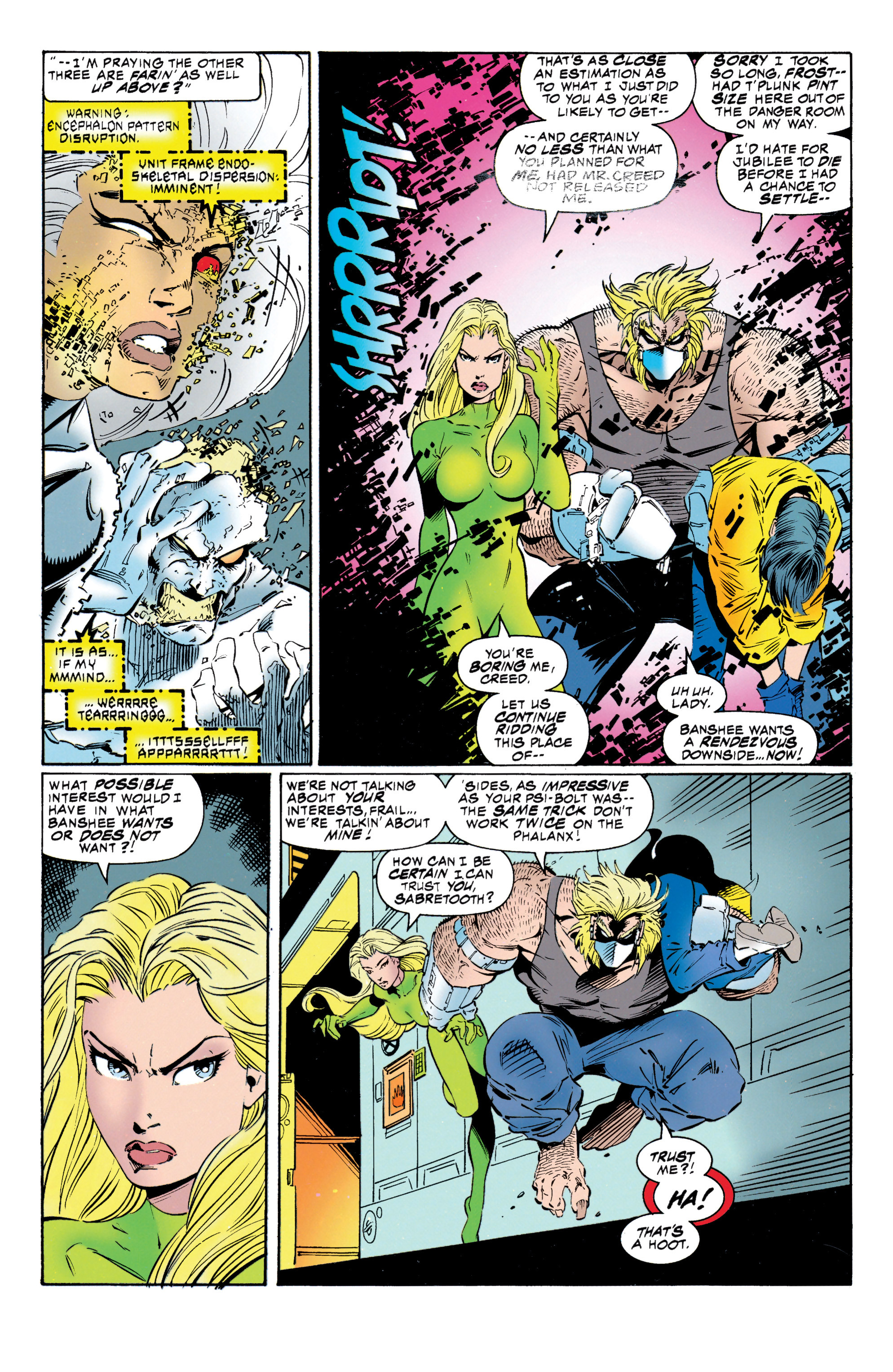 Read online Uncanny X-Men (1963) comic -  Issue #316 - 22