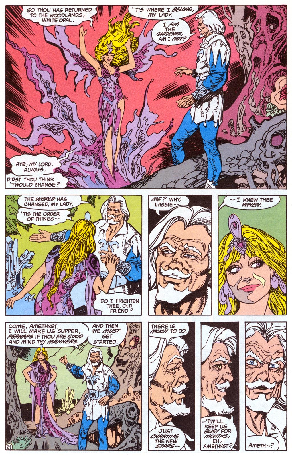 Read online Amethyst (1987) comic -  Issue #4 - 23