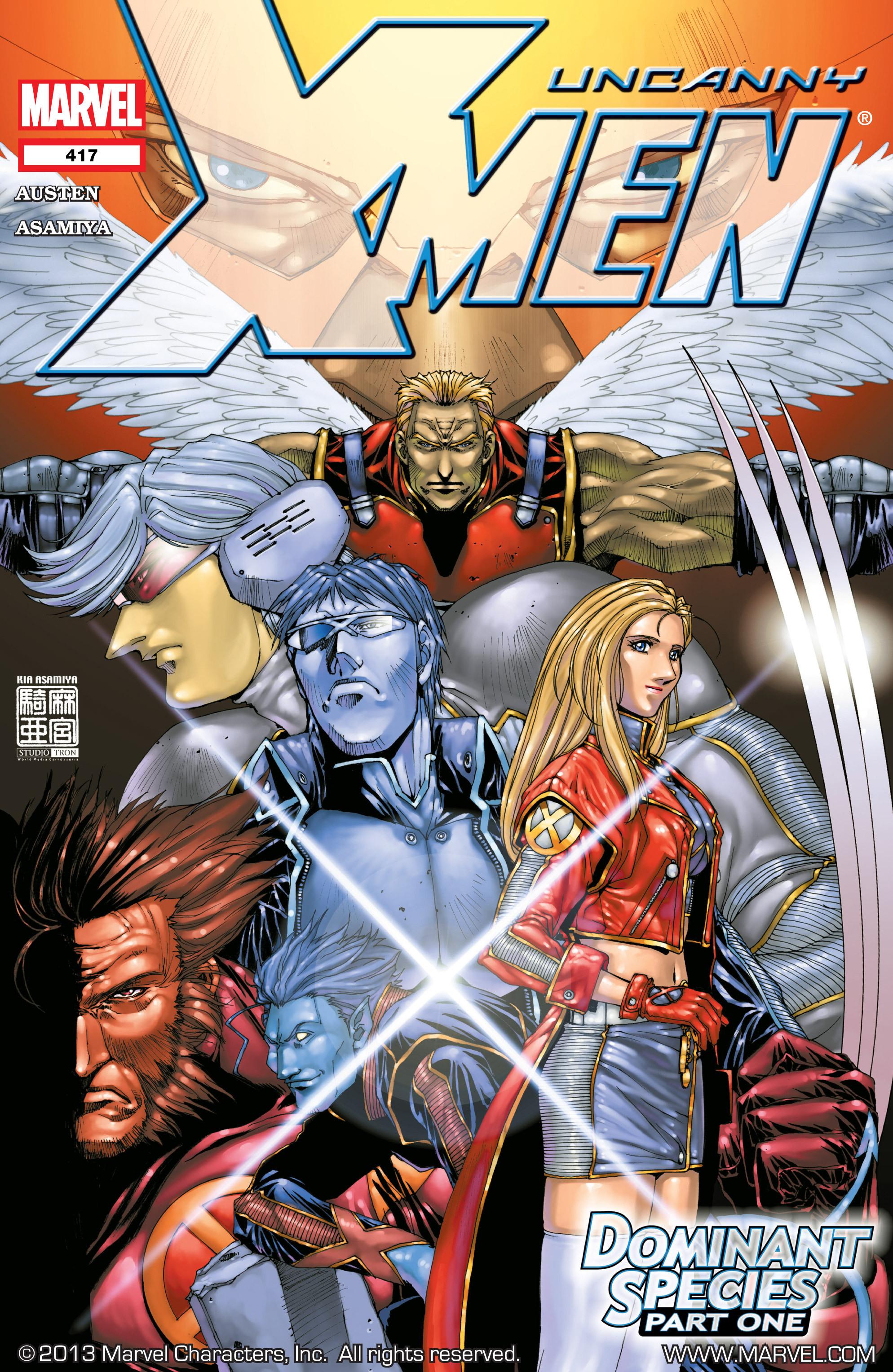 Read online Uncanny X-Men (1963) comic -  Issue #417 - 1