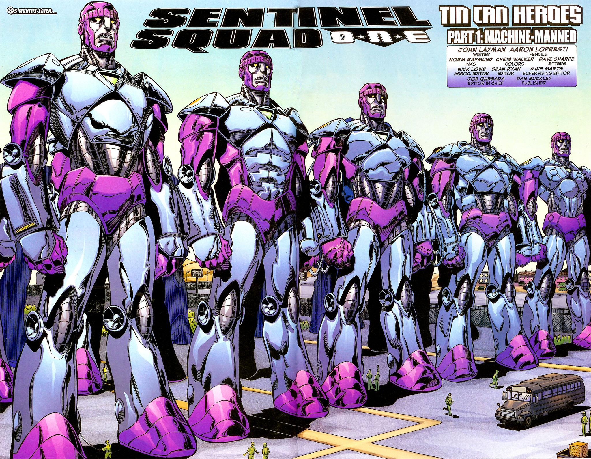 Read online Sentinel Squad O*N*E comic -  Issue #1 - 9