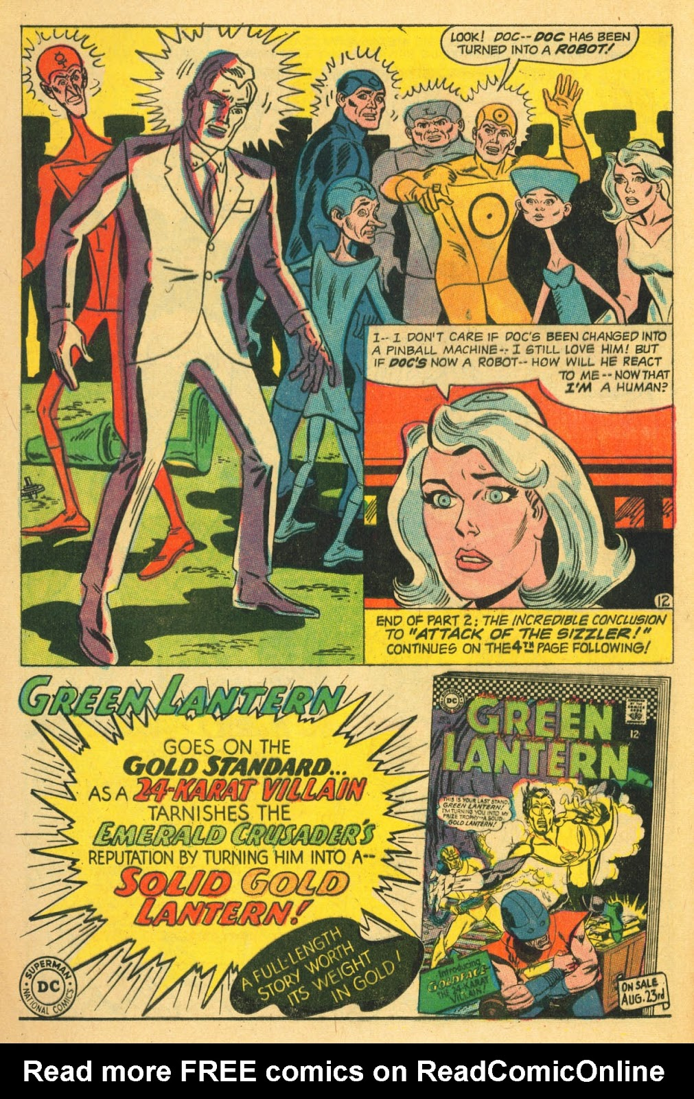 Metal Men (1963) issue 22 - Page 16