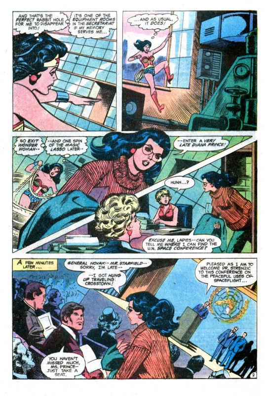 Read online Wonder Woman (1942) comic -  Issue #255 - 4