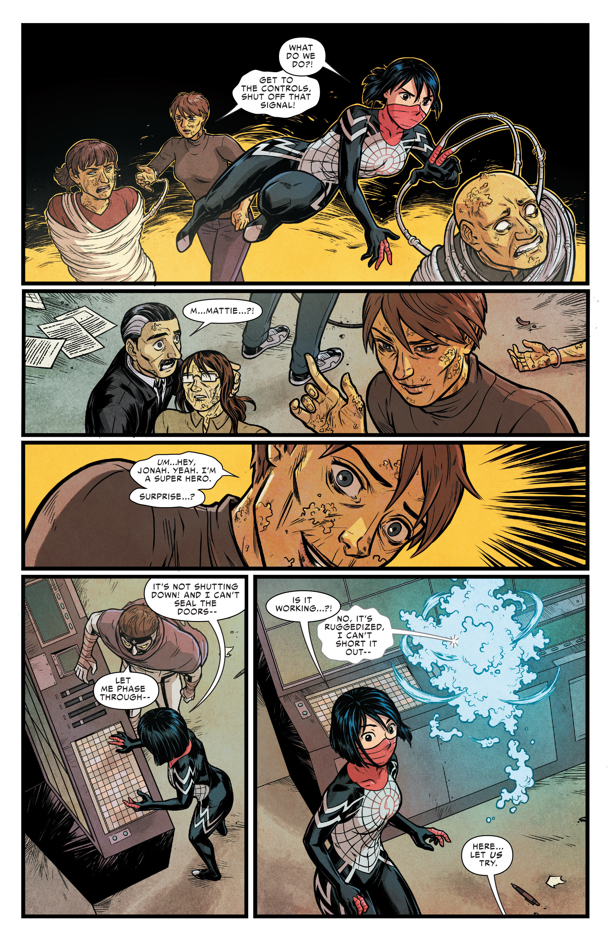 Read online Silk (2016) comic -  Issue #17 - 14