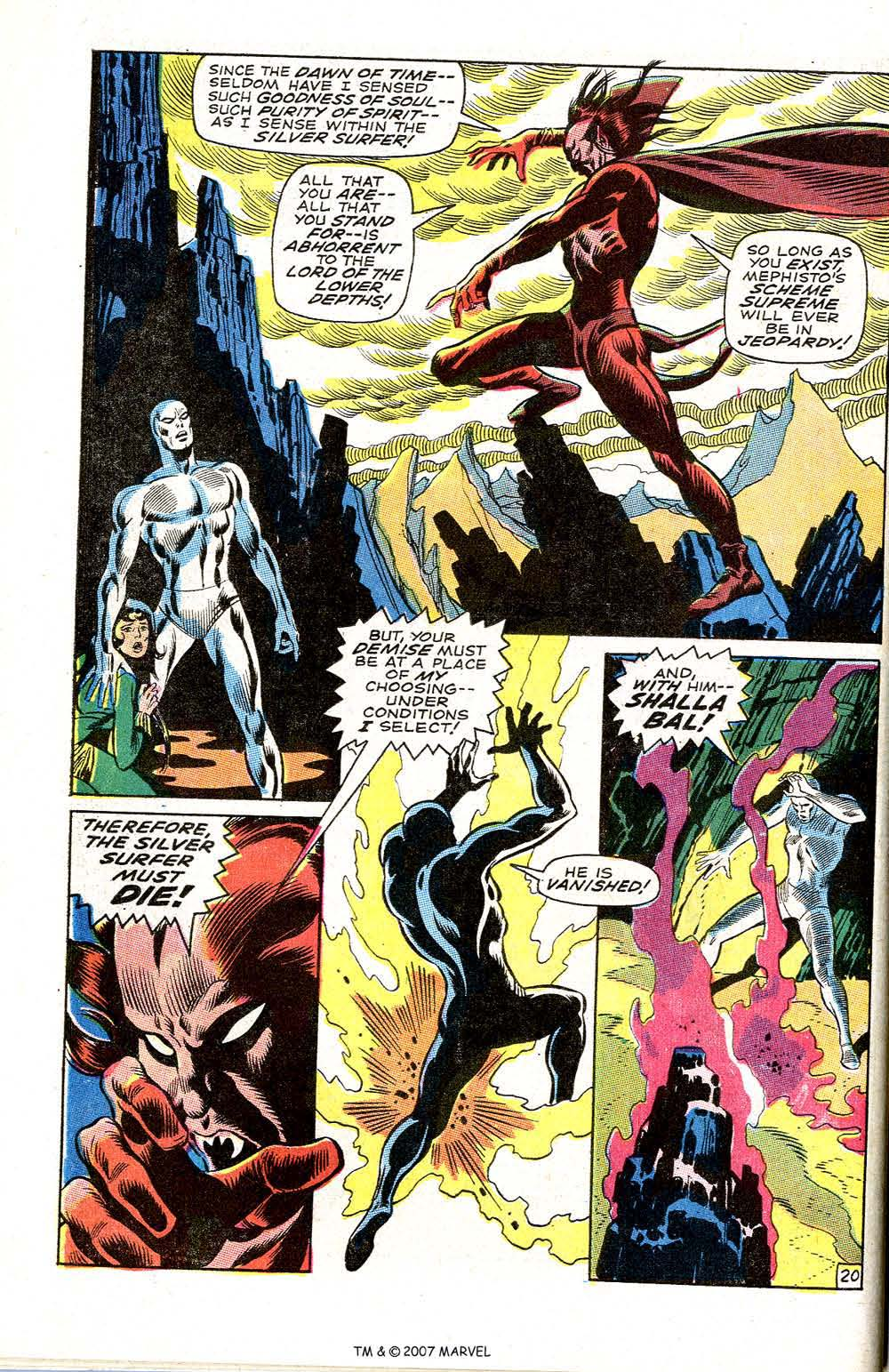 Silver Surfer (1968) issue 3 - Page 26