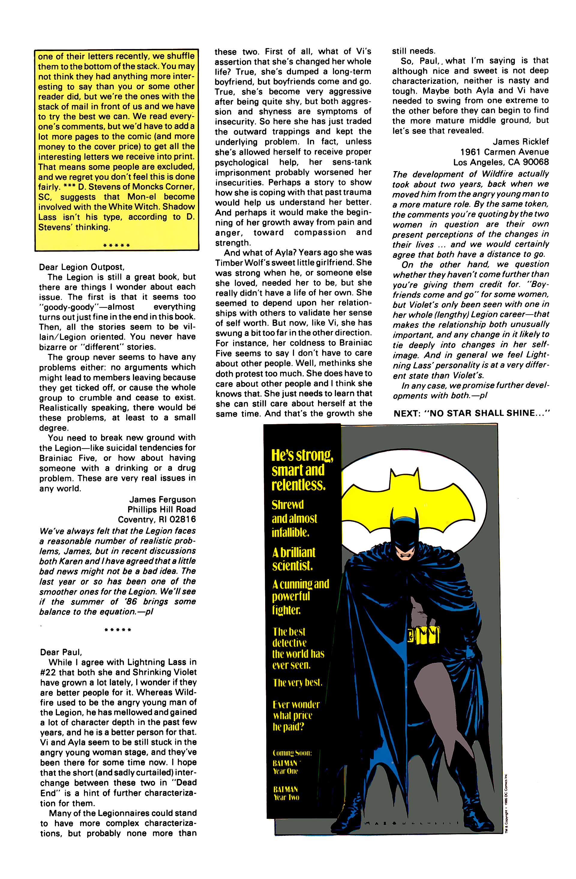 Legion of Super-Heroes (1984) 28 Page 31