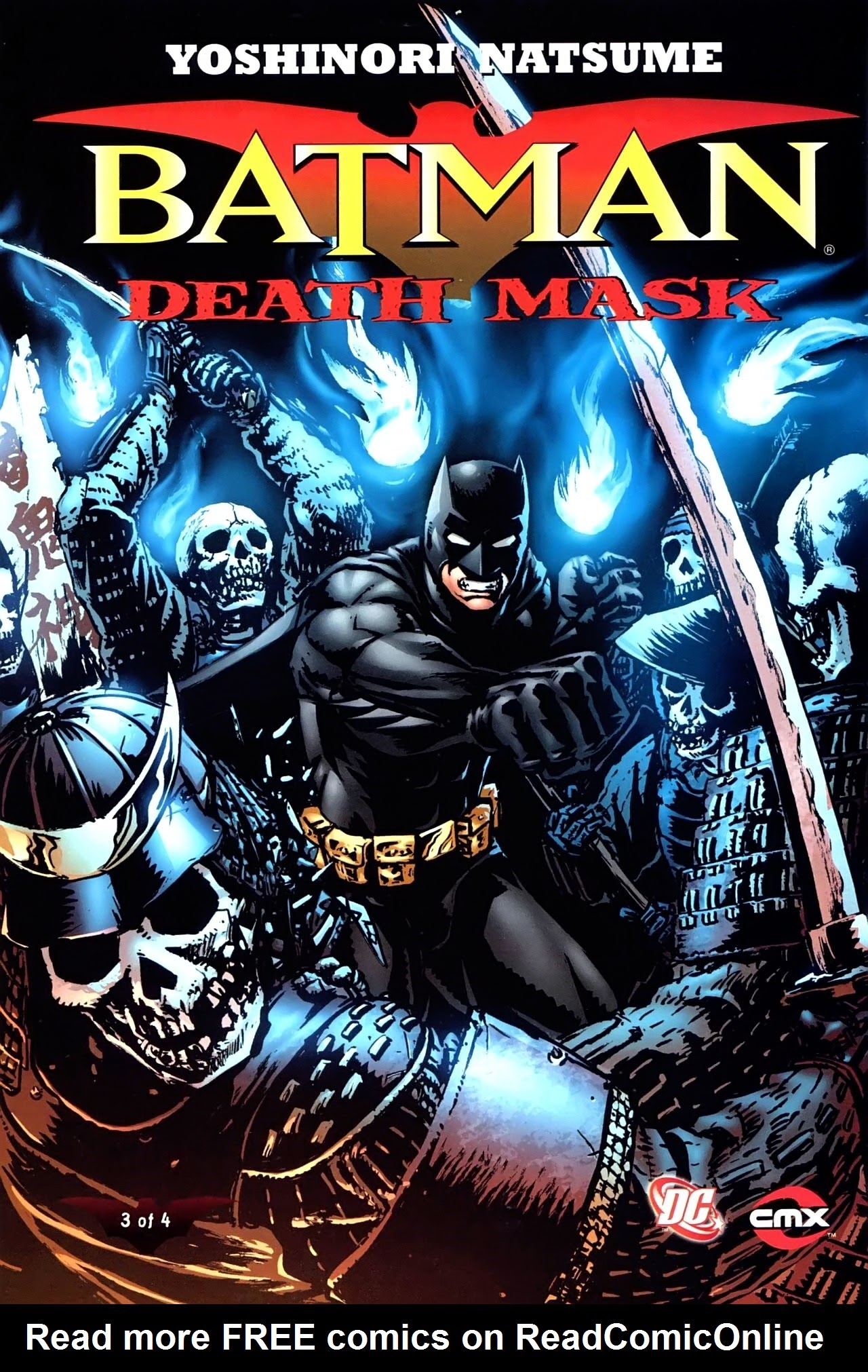 Batman: Death Mask 3 Page 1
