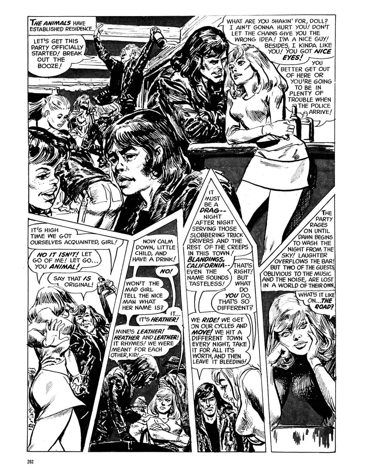 Read online Eerie Archives comic -  Issue # TPB 5 - 203