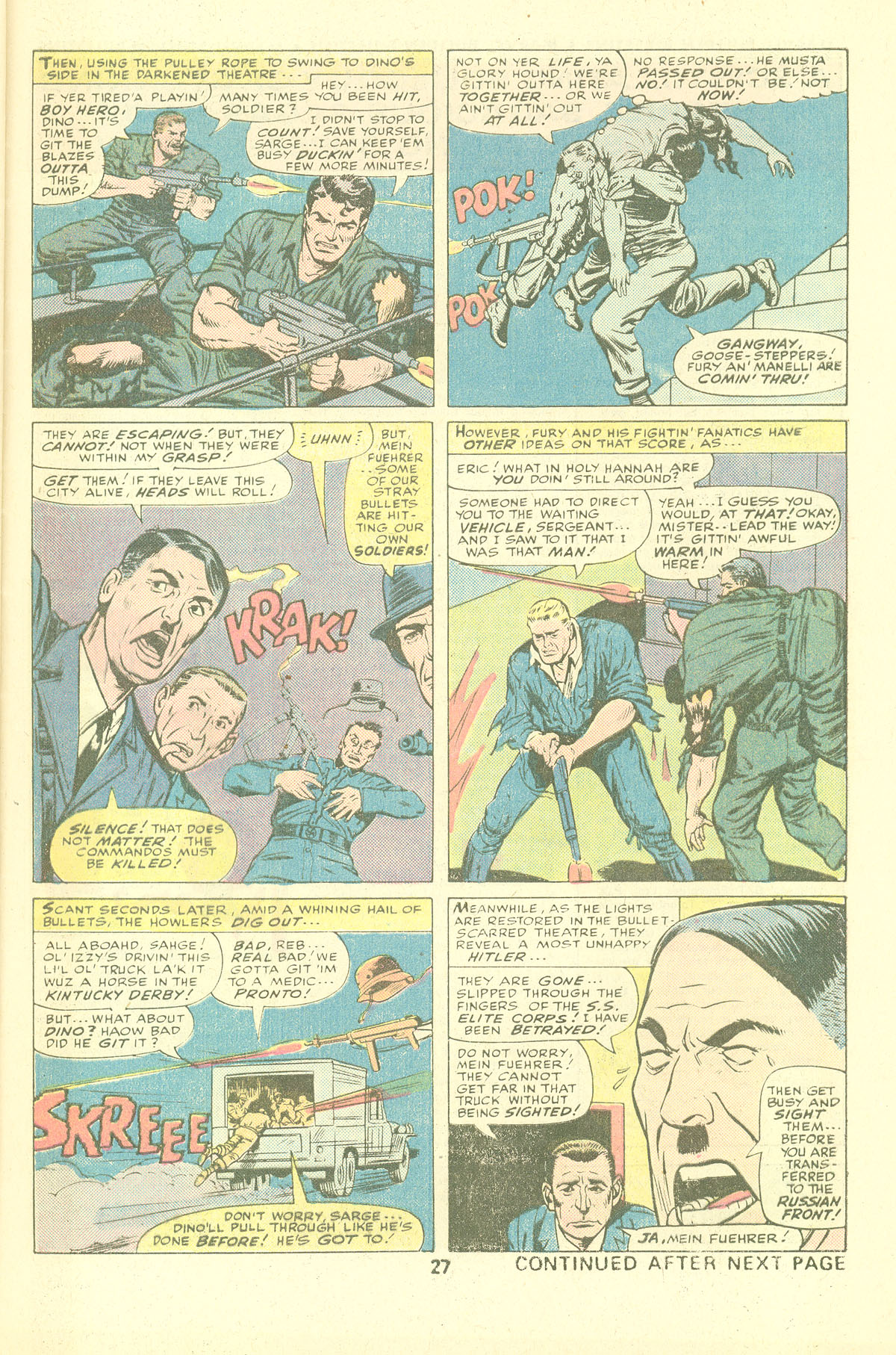 Read online Sgt. Fury comic -  Issue #137 - 29