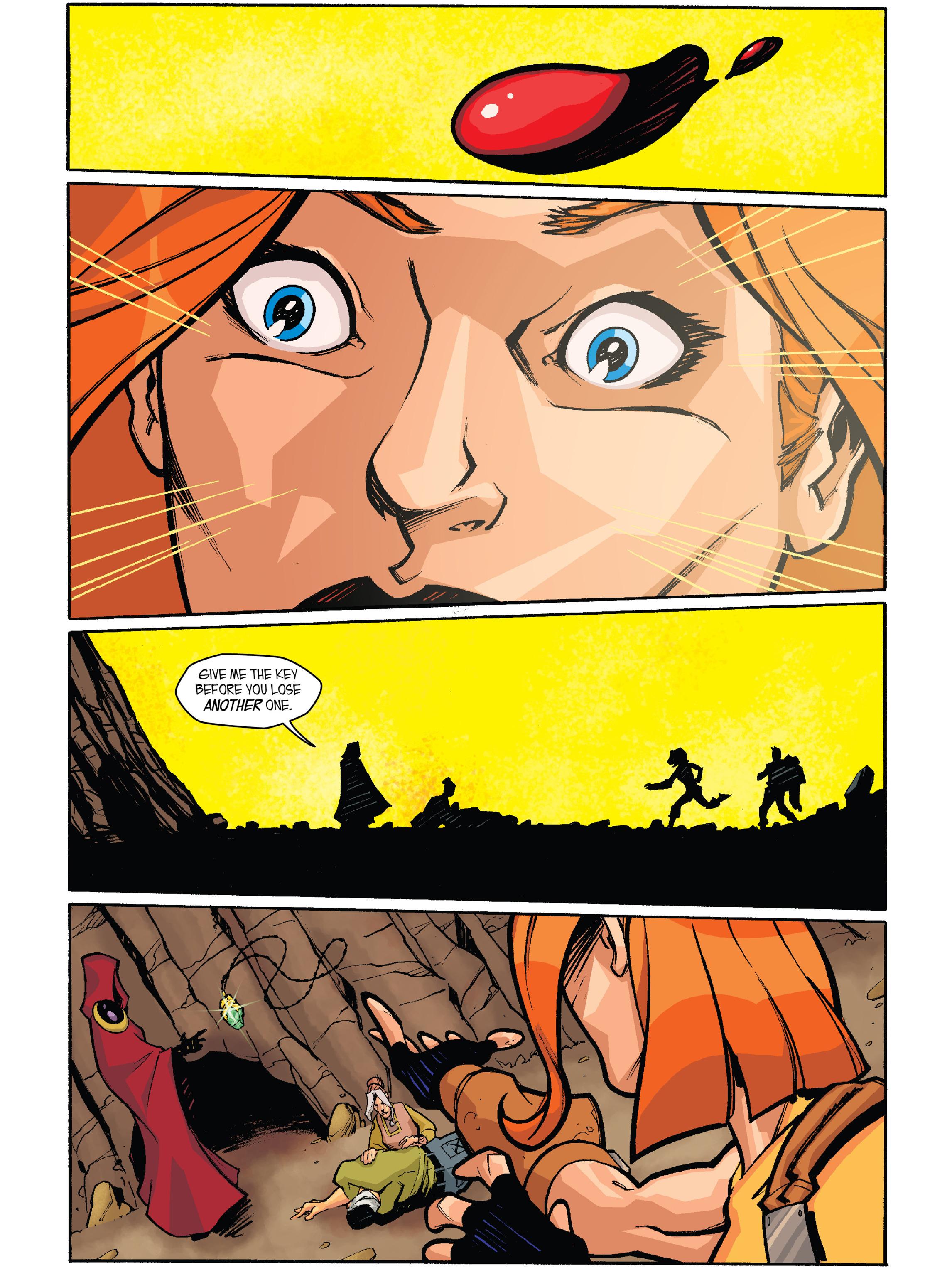 Read online Amber Atoms comic -  Issue #2 - 21