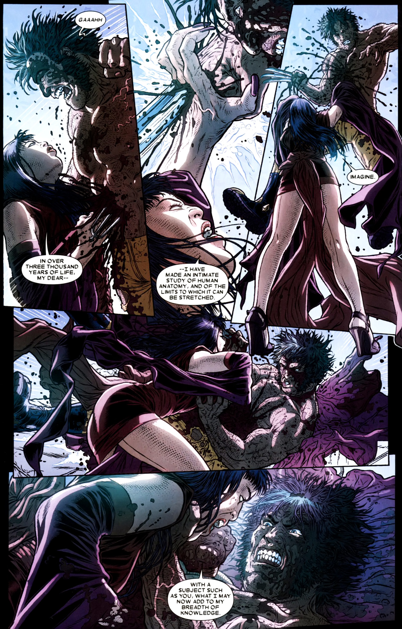 Read online Wolverine: The Best There Is comic -  Issue #4 - 6