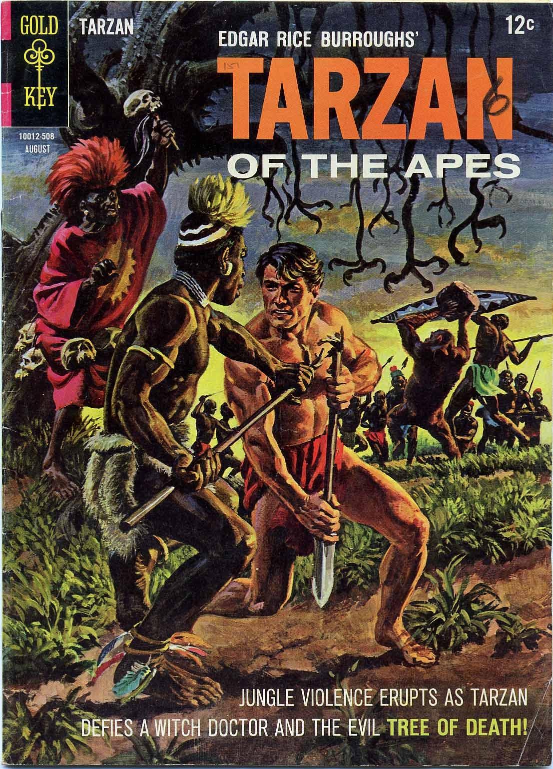 Tarzan (1962) issue 151 - Page 1