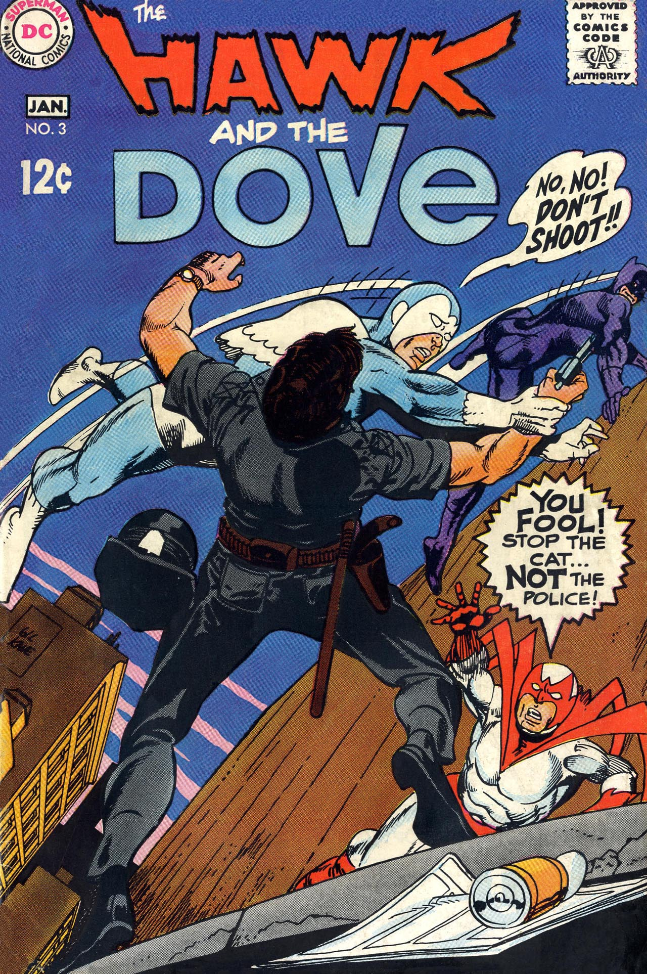 The Hawk and the Dove 3 Page 1